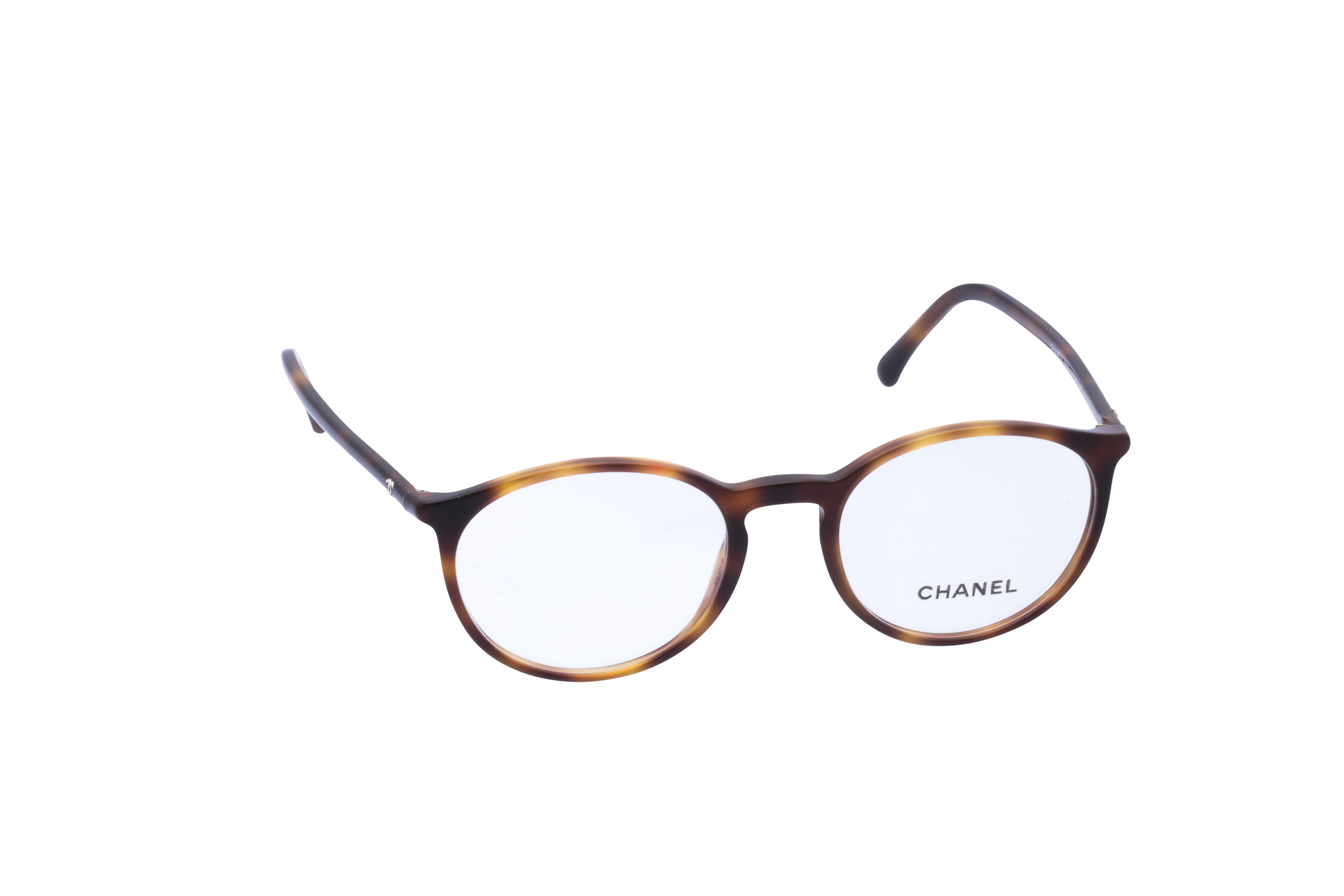360 Grad Ansicht 1 Chanel 3372 Frontansicht, Brille auf Weiß - Fassung bei KUNK