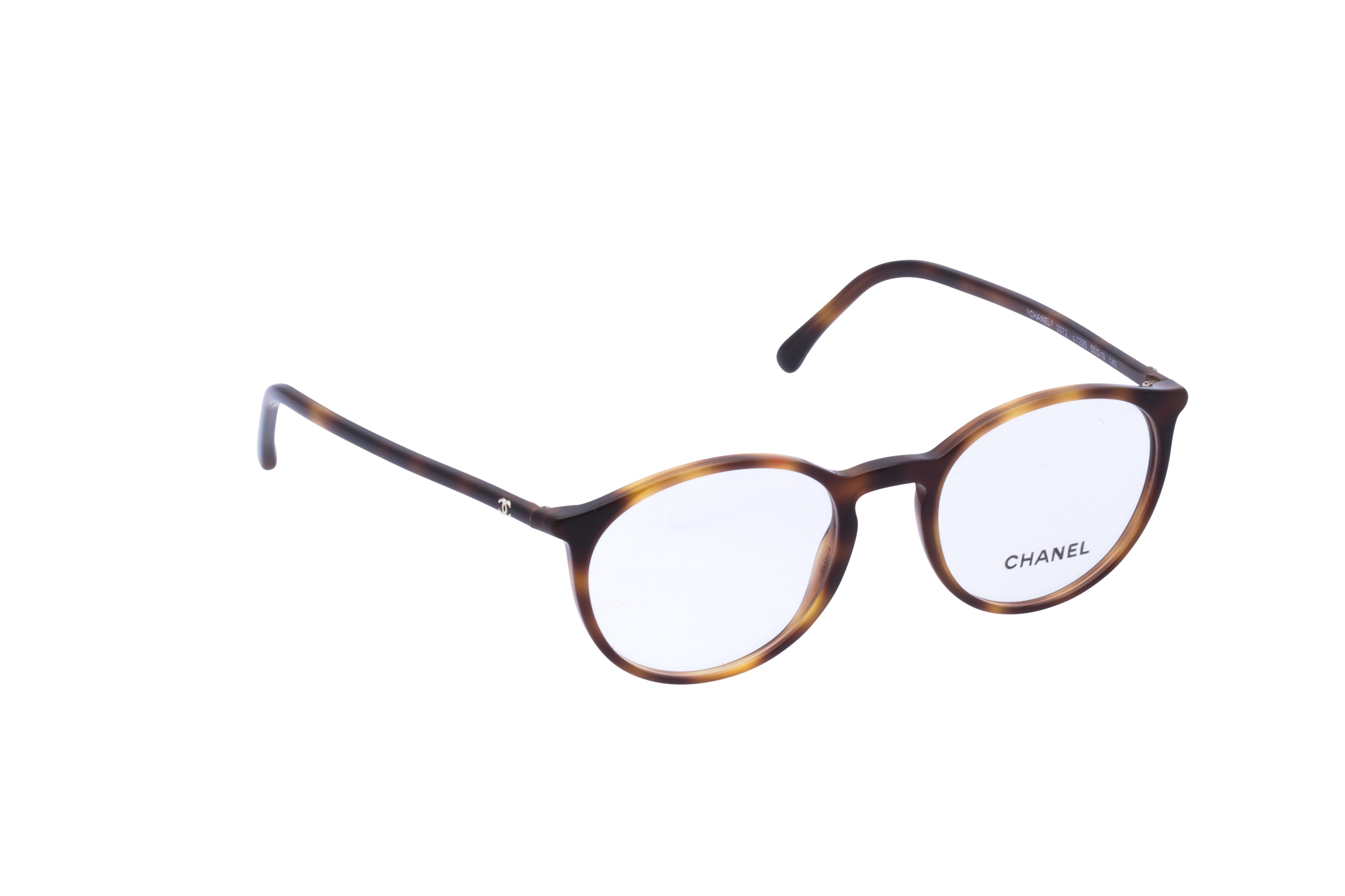 360 Grad Ansicht 2 Chanel 3372 Frontansicht, Brille auf Weiß - Fassung bei KUNK