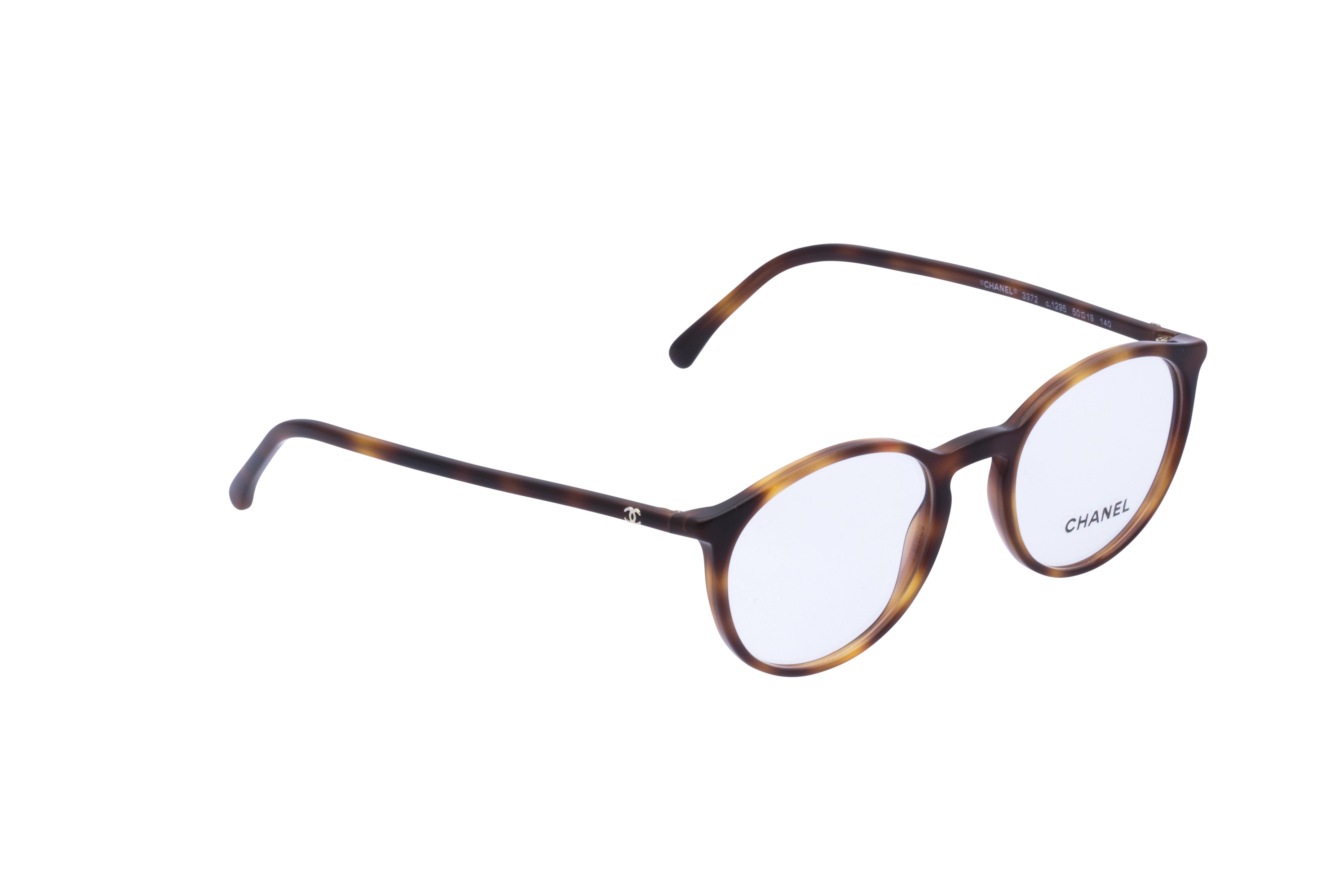 360 Grad Ansicht 3 Chanel 3372 Frontansicht, Brille auf Weiß - Fassung bei KUNK