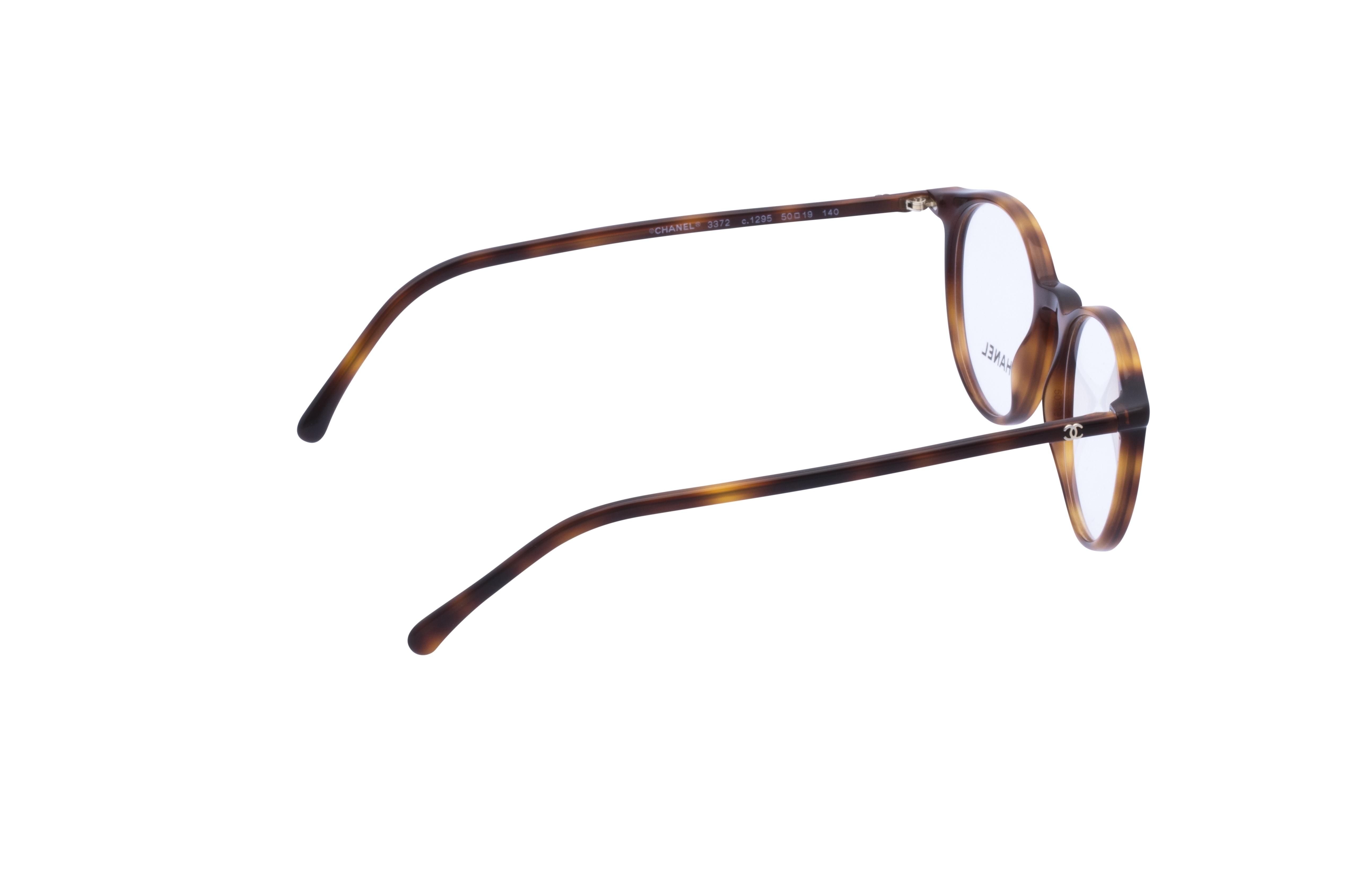 360 Grad Ansicht 7 Chanel 3372 Frontansicht, Brille auf Weiß - Fassung bei KUNK