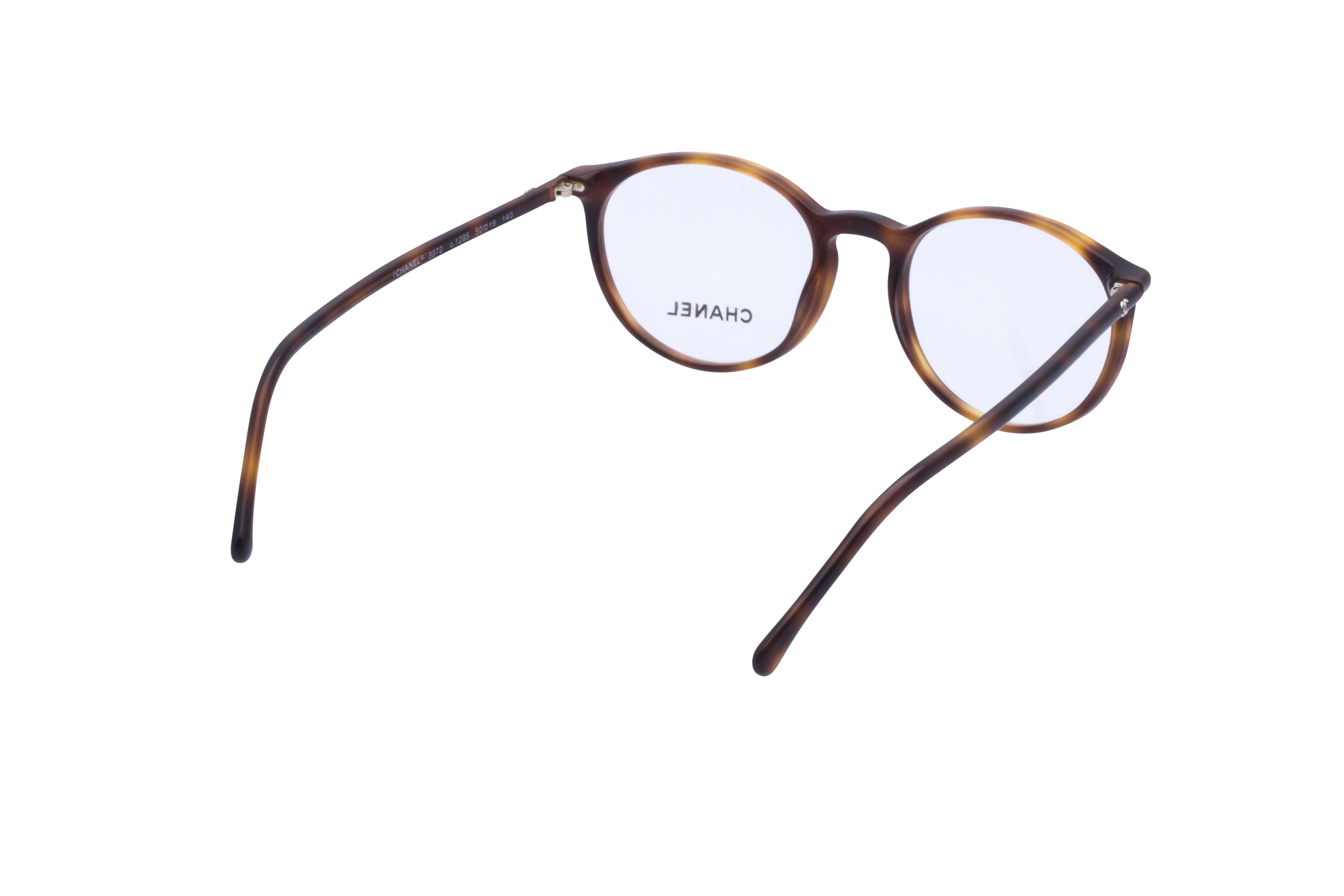 360 Grad Ansicht 10 Chanel 3372 Frontansicht, Brille auf Weiß - Fassung bei KUNK
