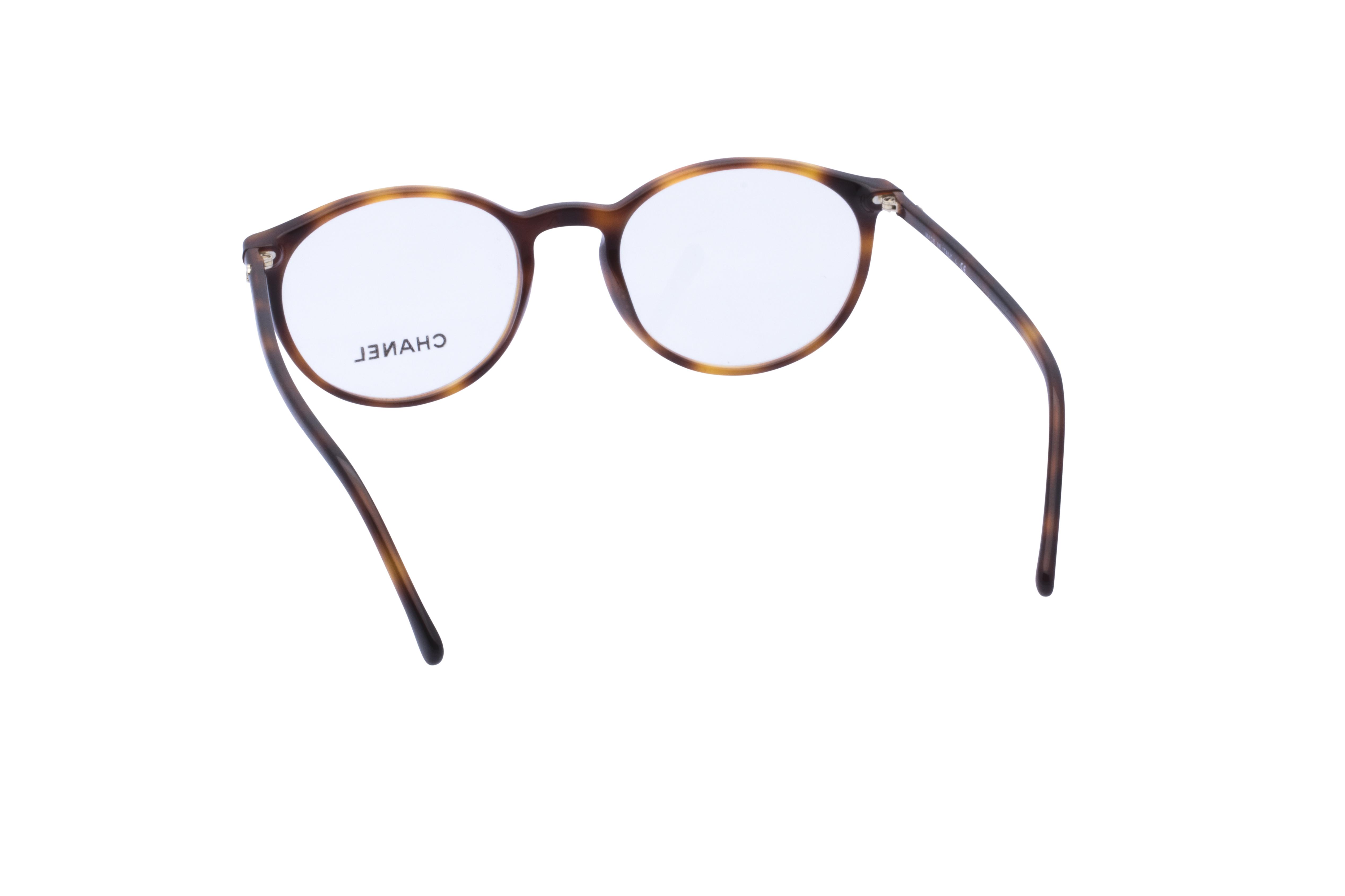 360 Grad Ansicht 13 Chanel 3372 Frontansicht, Brille auf Weiß - Fassung bei KUNK