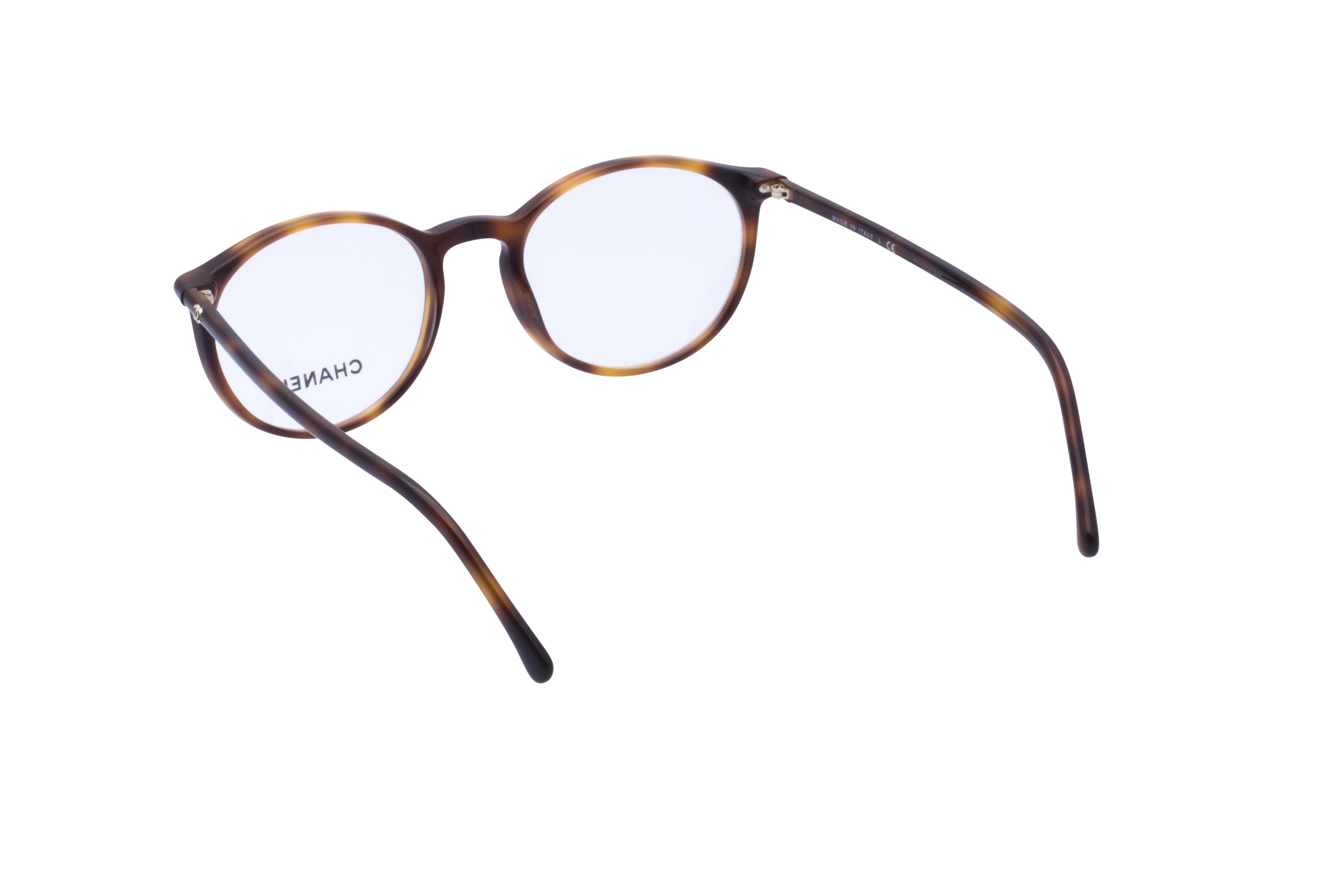 360 Grad Ansicht 14 Chanel 3372 Frontansicht, Brille auf Weiß - Fassung bei KUNK