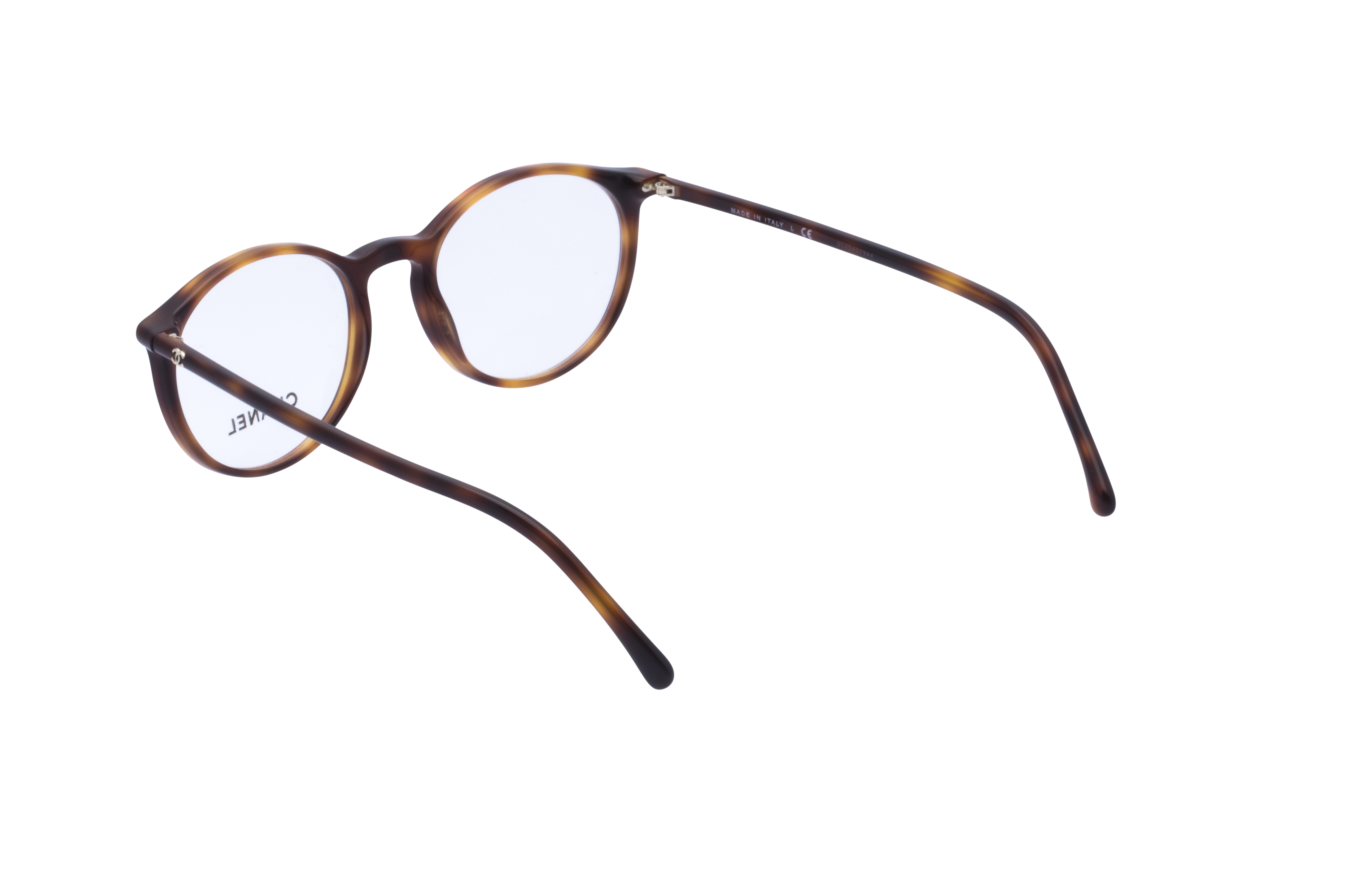 360 Grad Ansicht 15 Chanel 3372 Frontansicht, Brille auf Weiß - Fassung bei KUNK