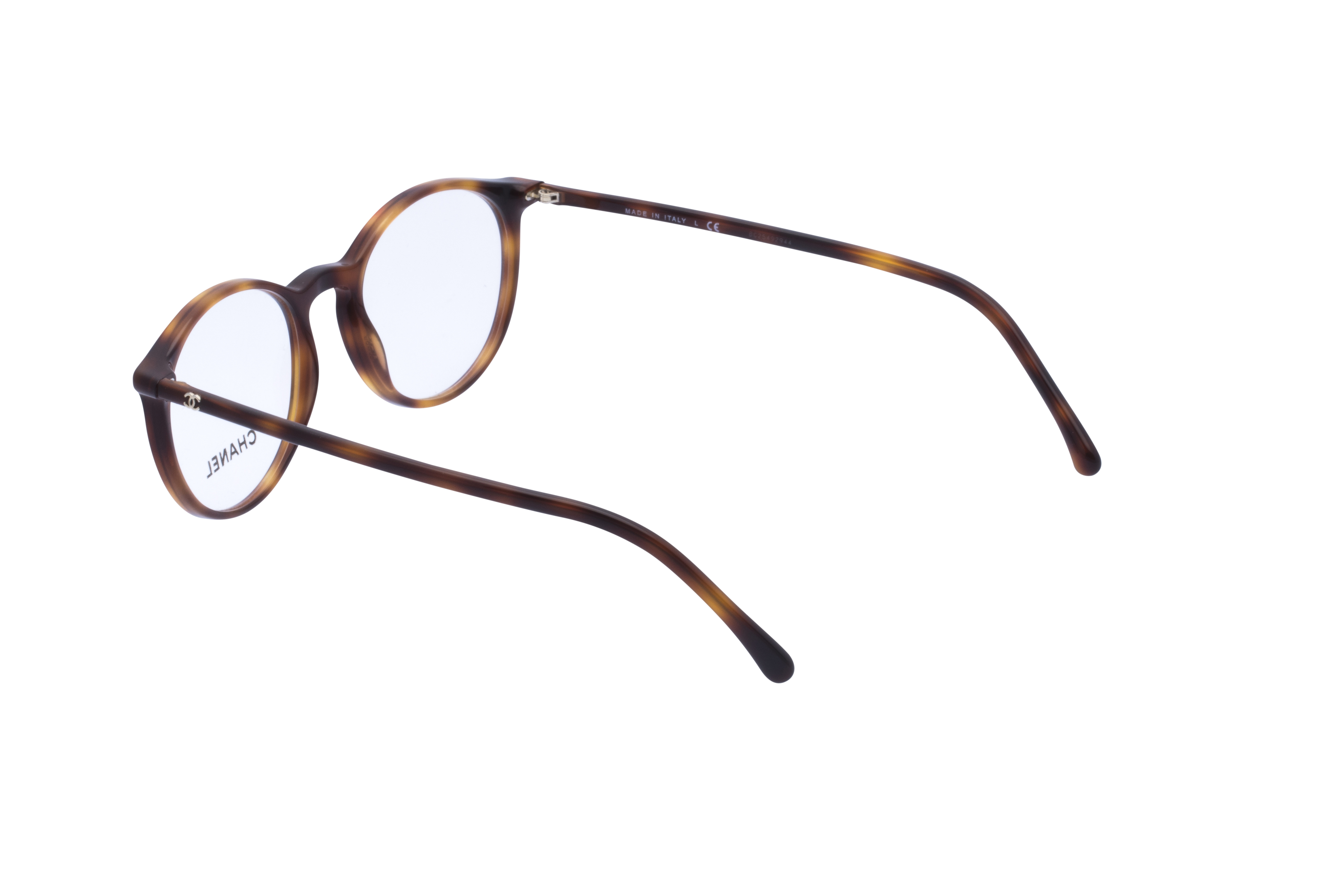 360 Grad Ansicht 16 Chanel 3372 Frontansicht, Brille auf Weiß - Fassung bei KUNK