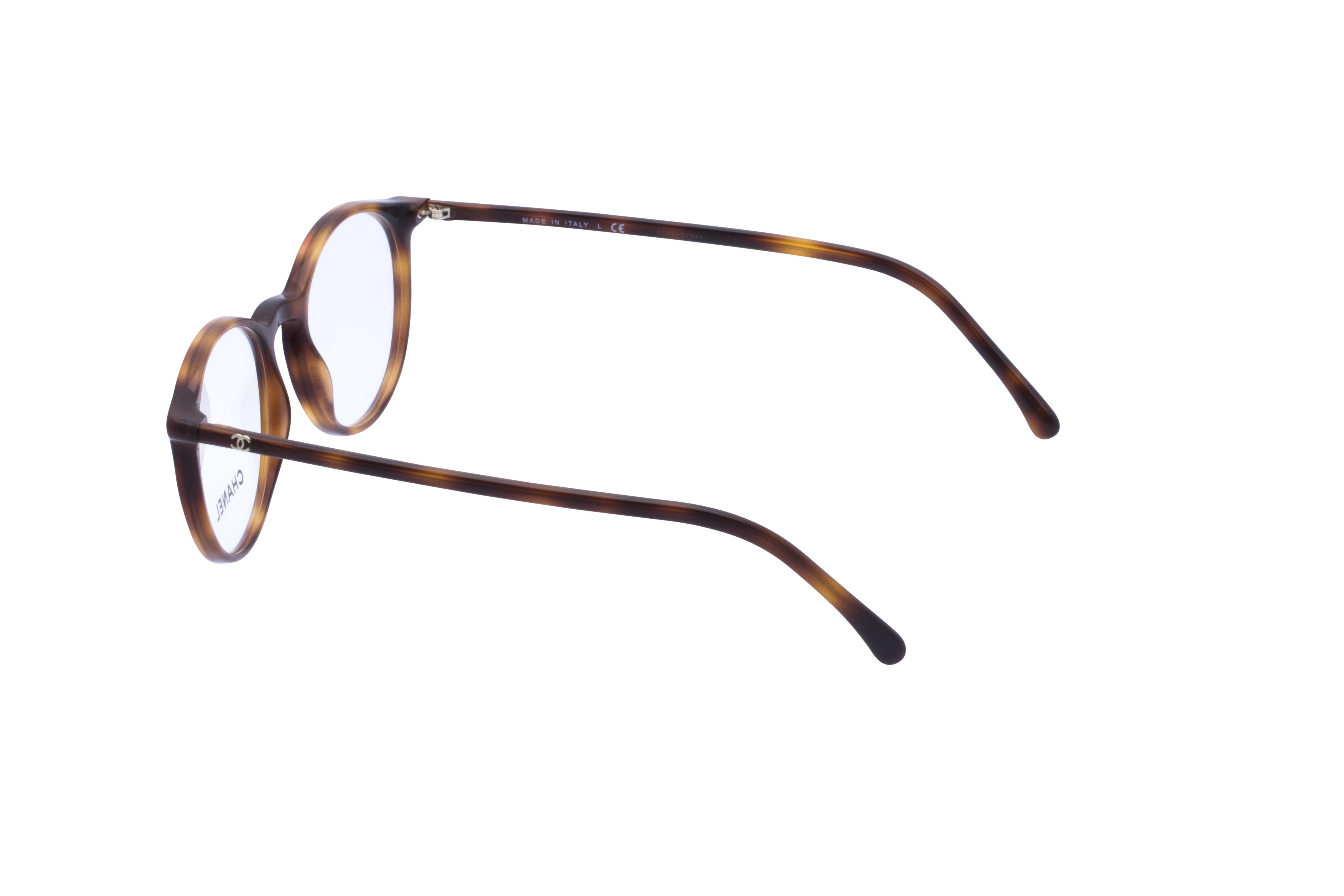 360 Grad Ansicht 17 Chanel 3372 Frontansicht, Brille auf Weiß - Fassung bei KUNK