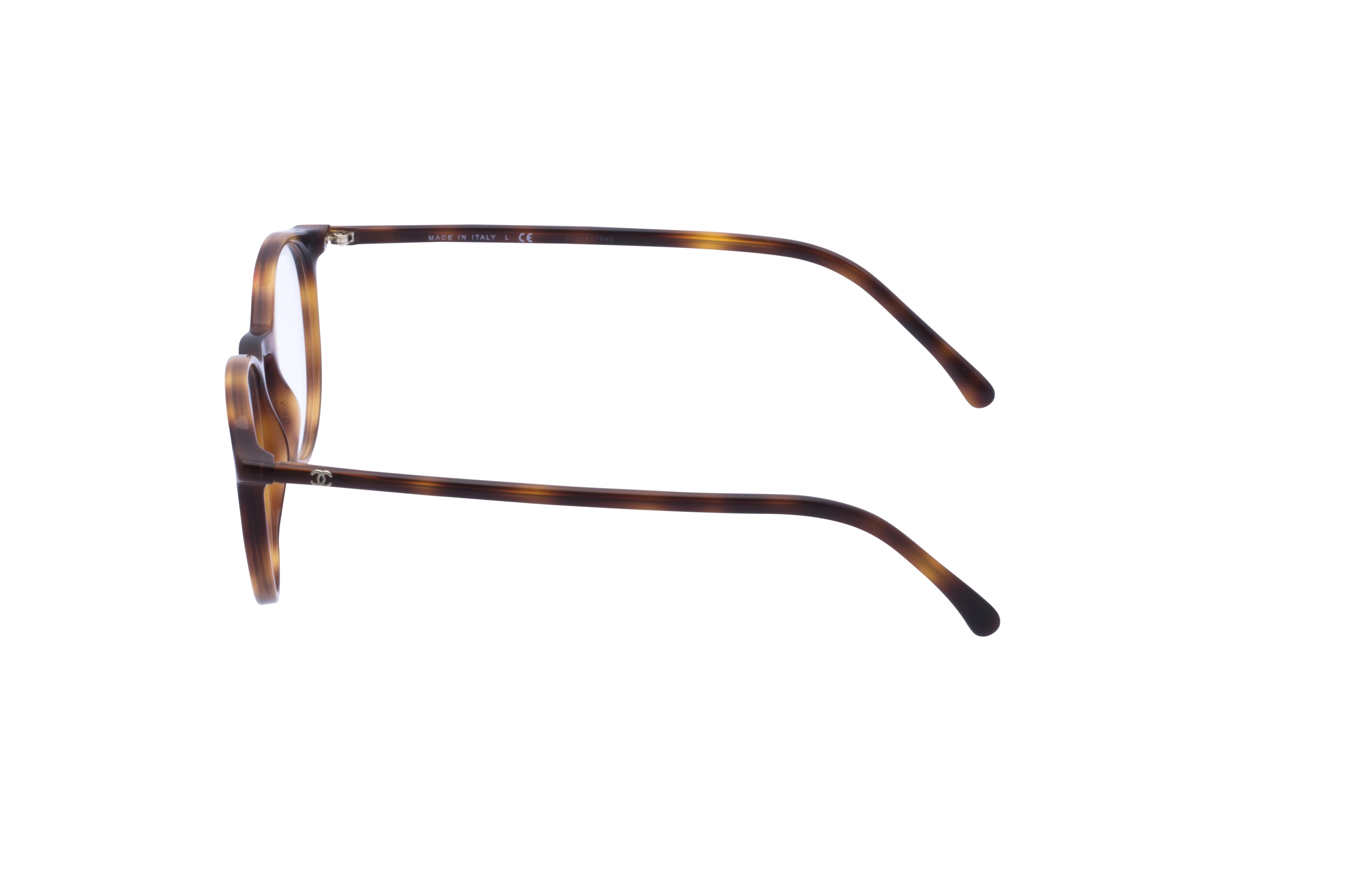 360 Grad Ansicht 18 Chanel 3372 Frontansicht, Brille auf Weiß - Fassung bei KUNK