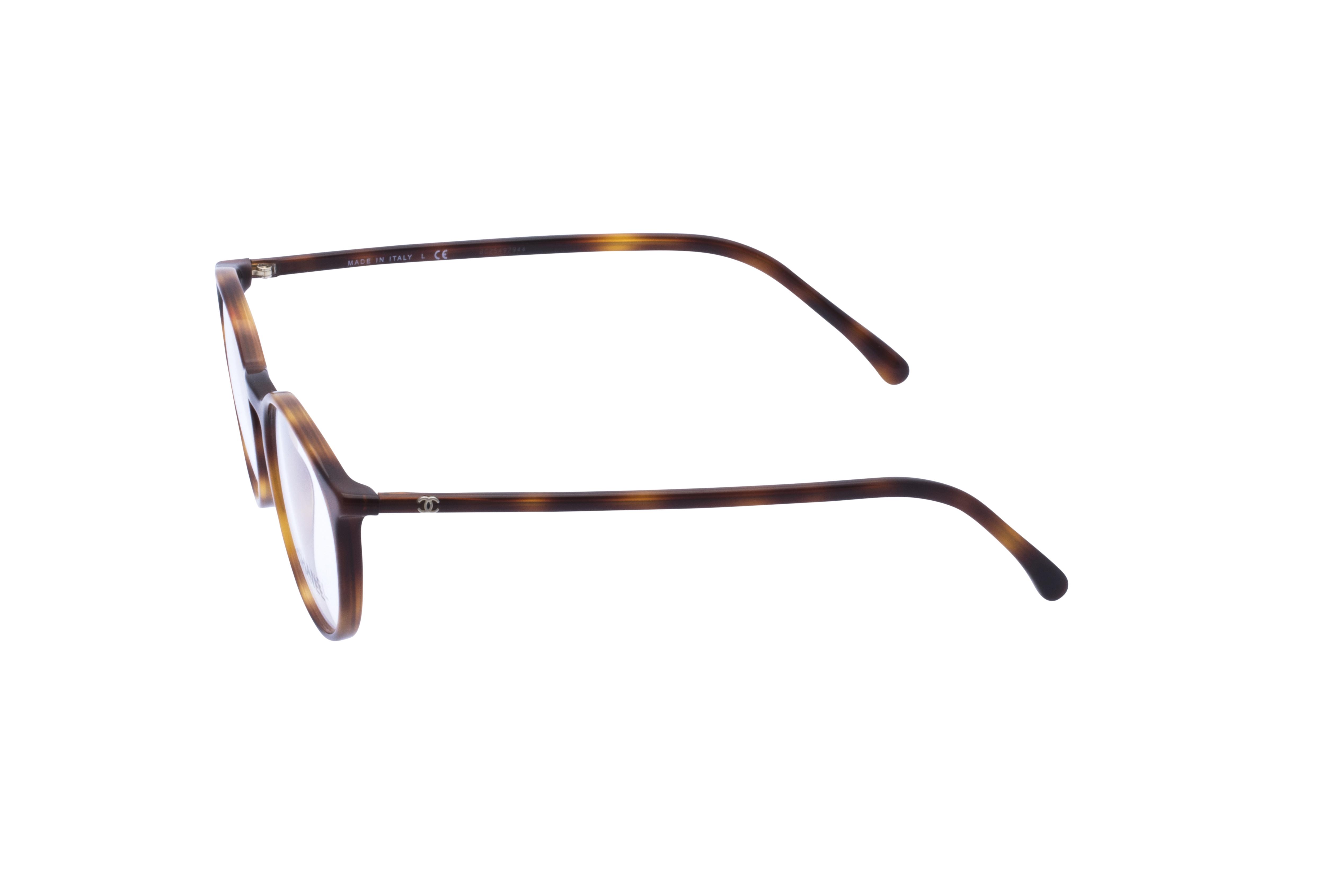 360 Grad Ansicht 19 Chanel 3372 Frontansicht, Brille auf Weiß - Fassung bei KUNK