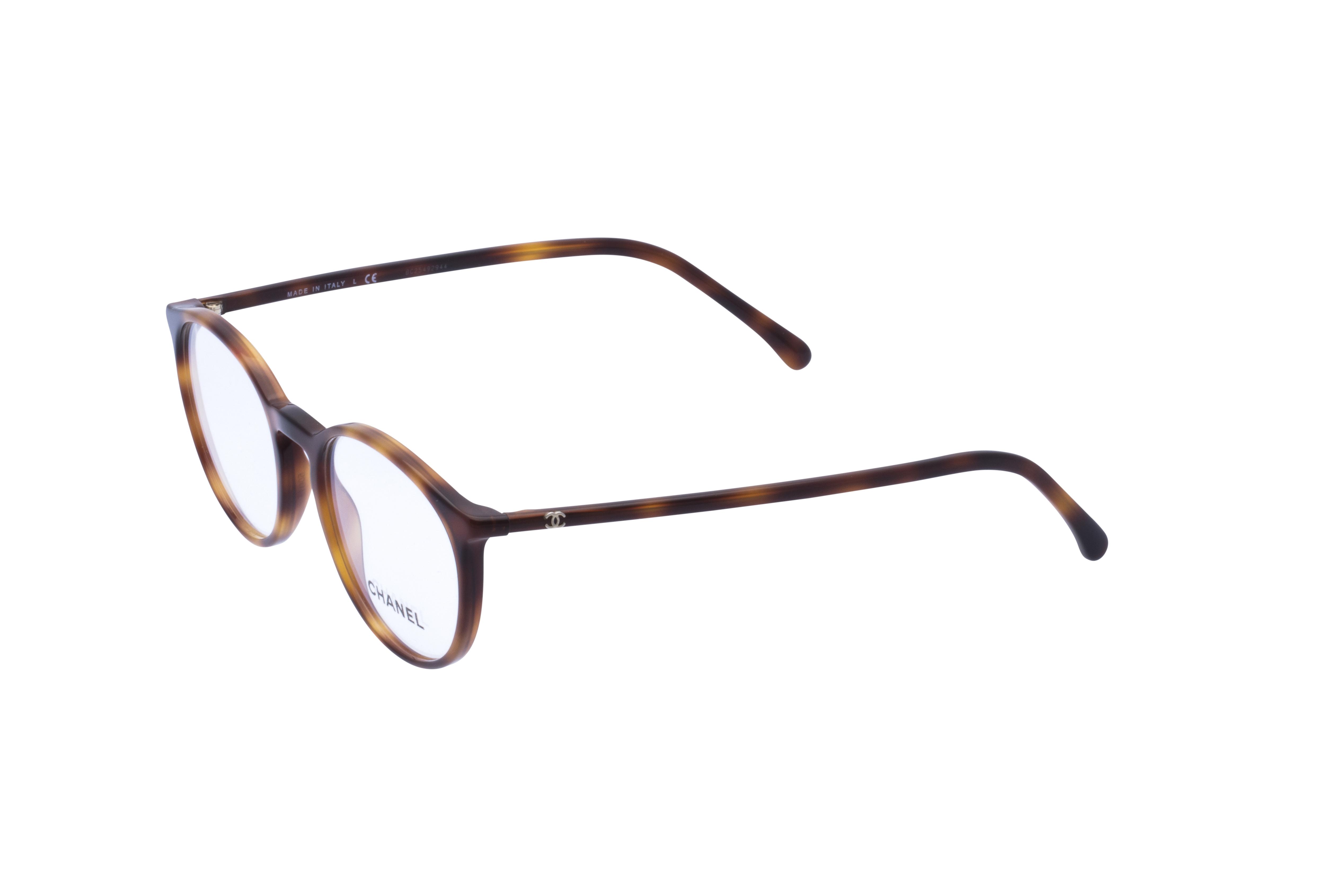 360 Grad Ansicht 20 Chanel 3372 Frontansicht, Brille auf Weiß - Fassung bei KUNK