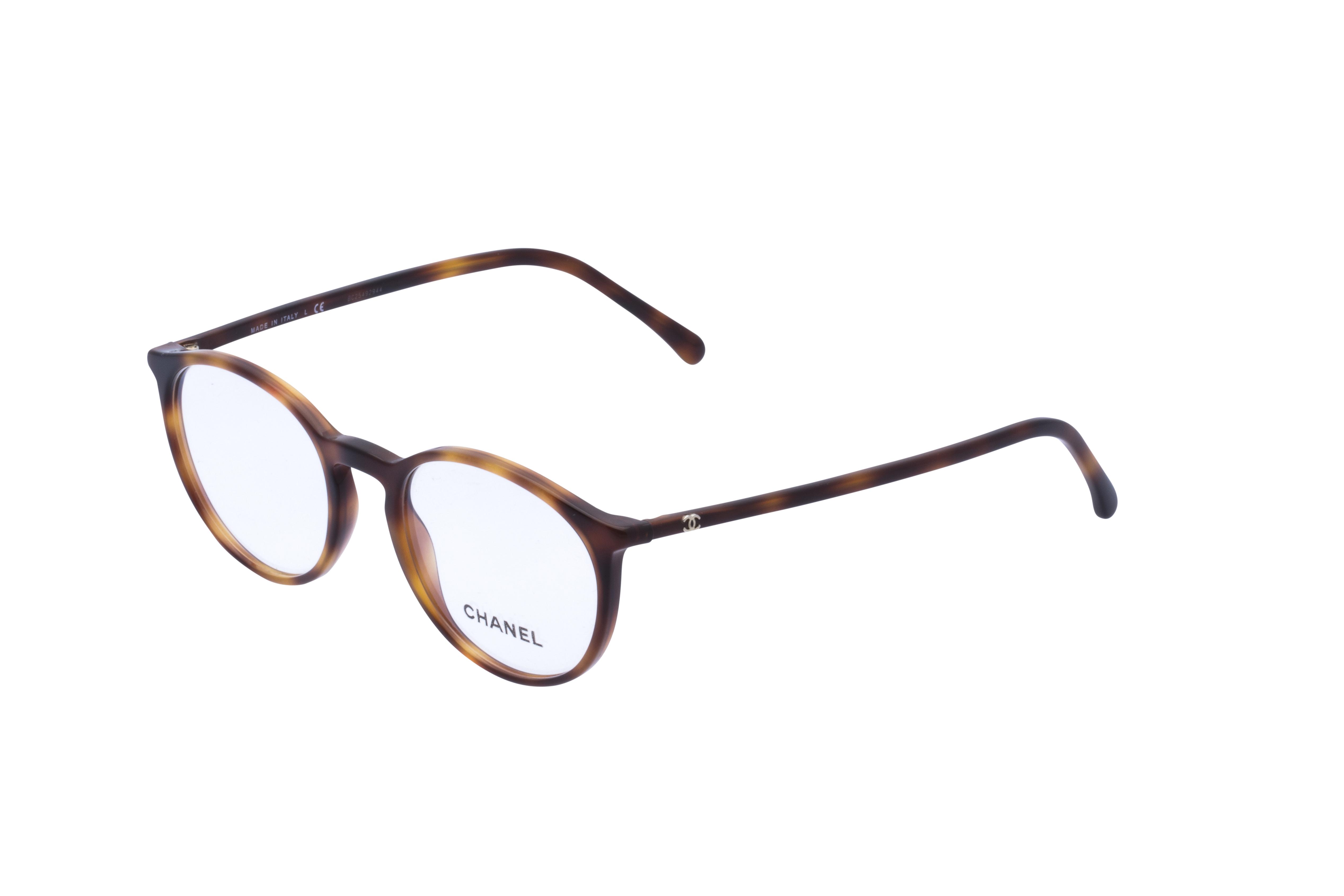 360 Grad Ansicht 21 Chanel 3372 Frontansicht, Brille auf Weiß - Fassung bei KUNK