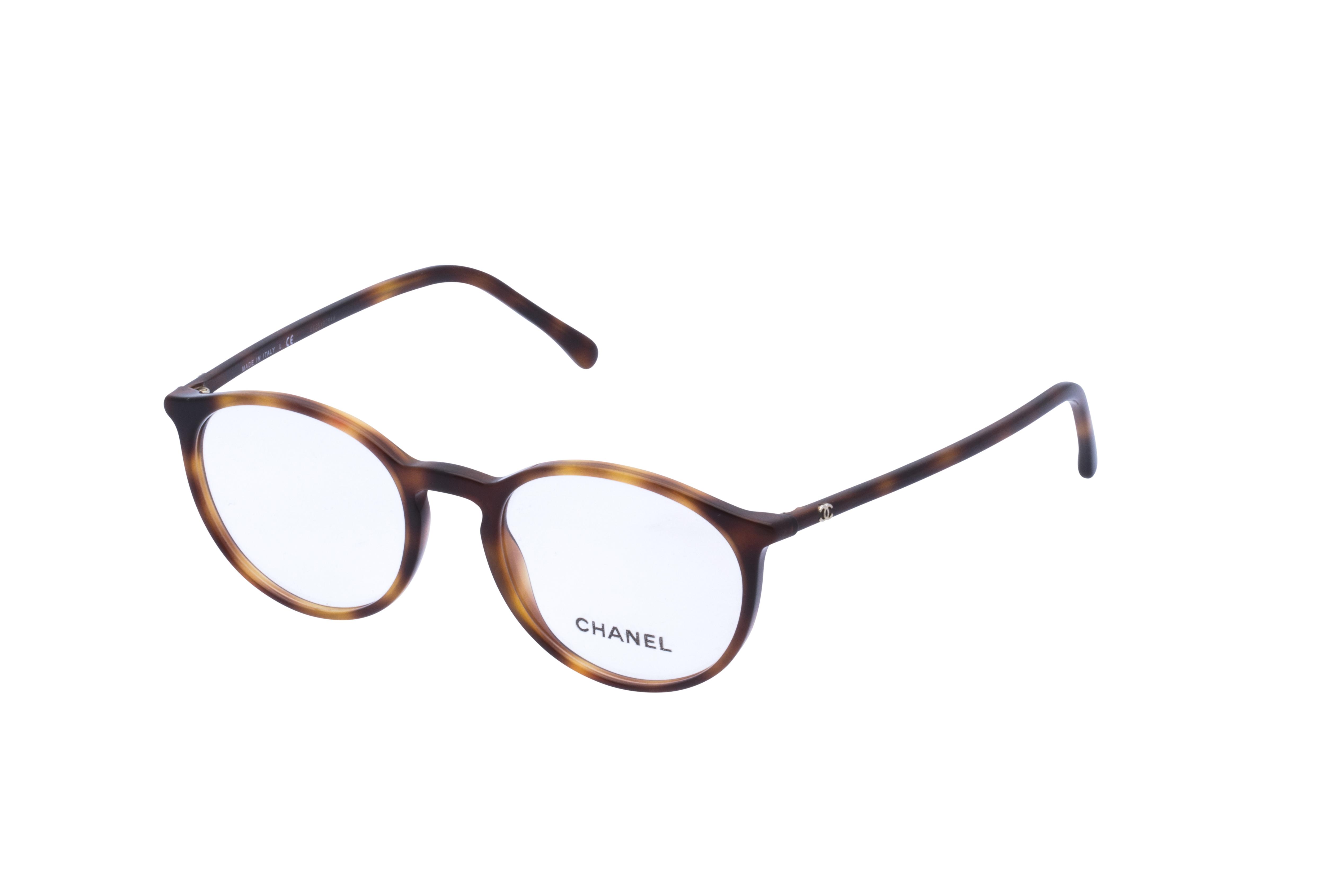 360 Grad Ansicht 22 Chanel 3372 Frontansicht, Brille auf Weiß - Fassung bei KUNK