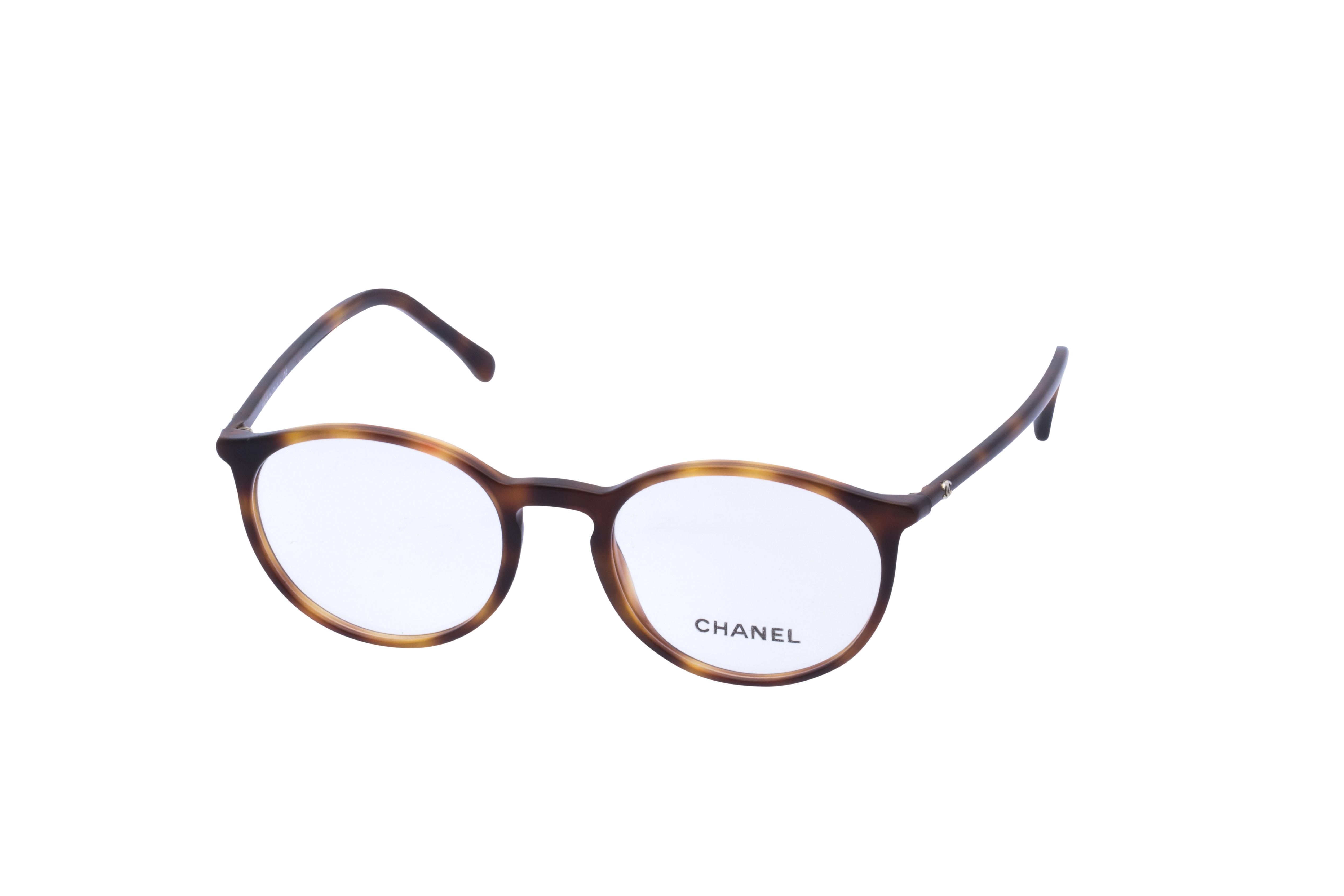 360 Grad Ansicht 23 Chanel 3372 Frontansicht, Brille auf Weiß - Fassung bei KUNK