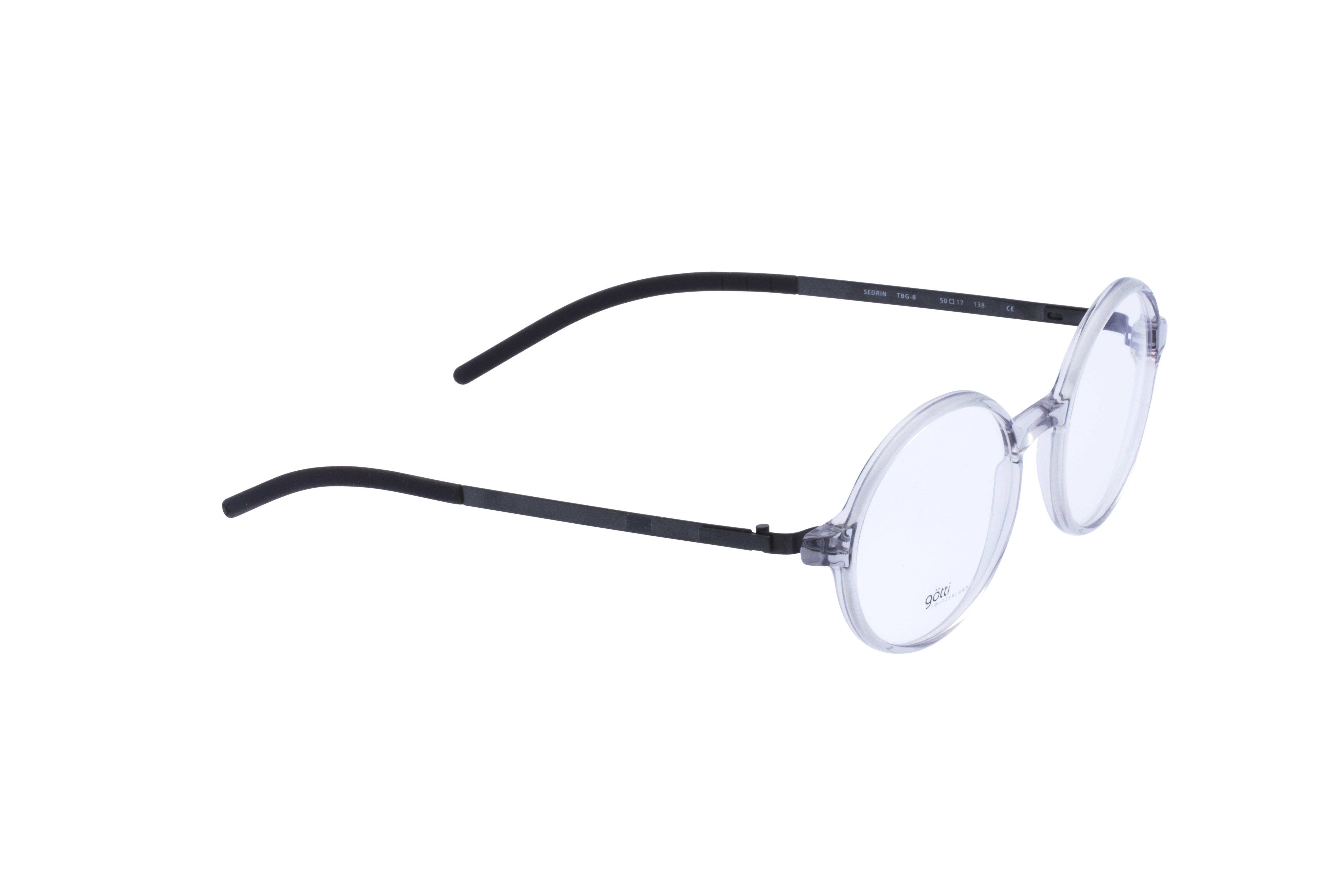 360 Grad Ansicht 4 Götti Sedrin, Brille auf Weiß - Fassung bei KUNK
