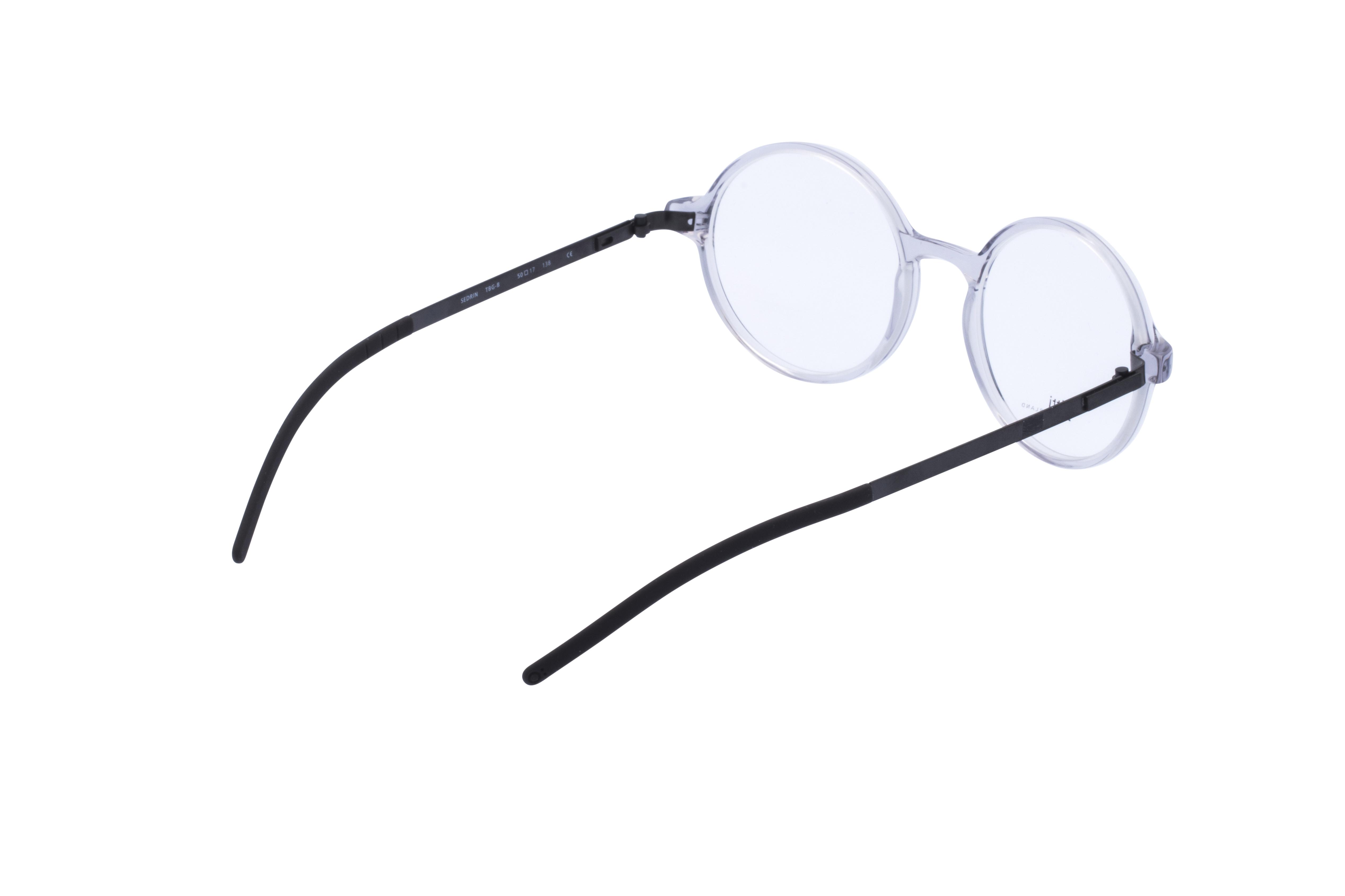 360 Grad Ansicht 9 Götti Sedrin, Brille auf Weiß - Fassung bei KUNK