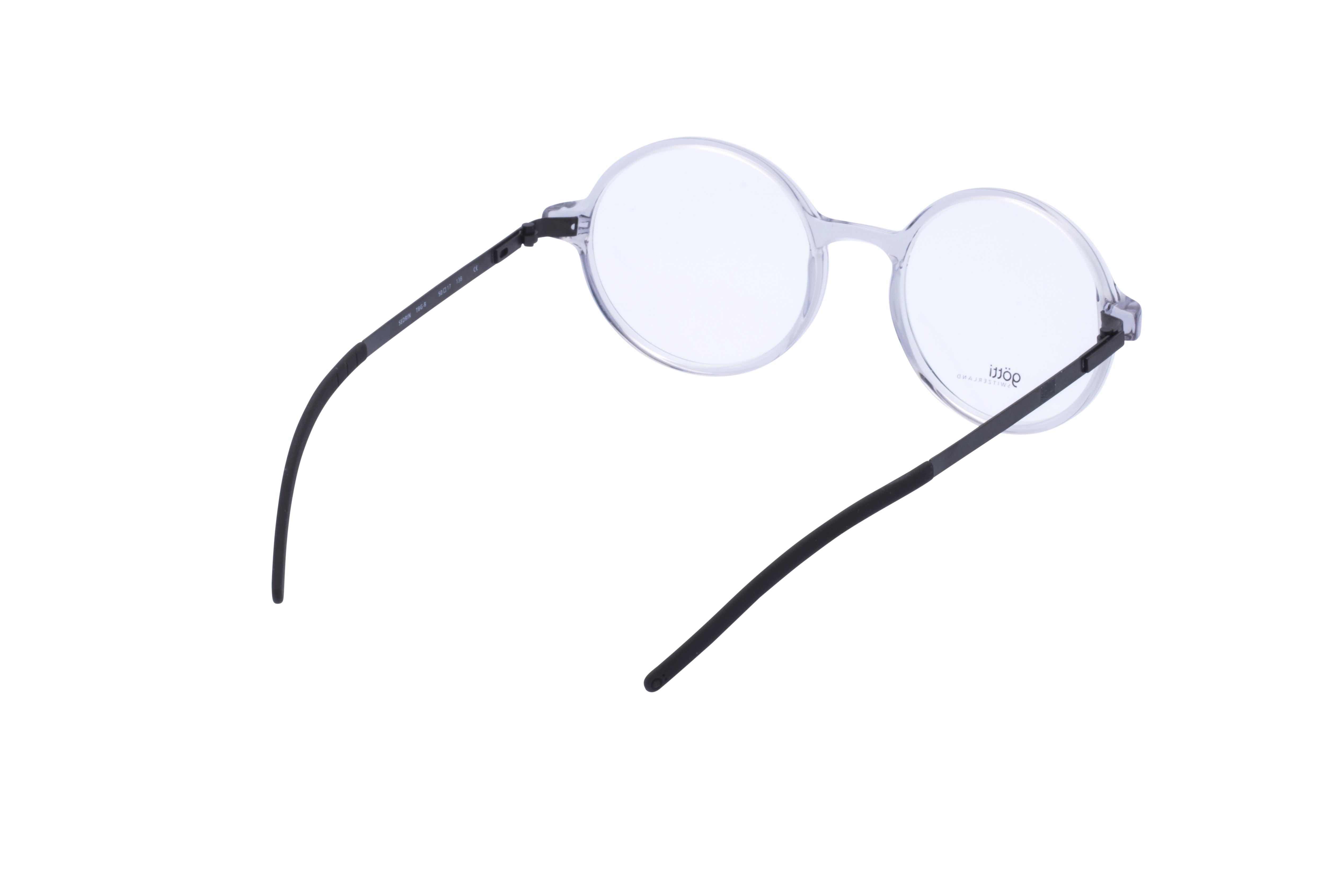 360 Grad Ansicht 10 Götti Sedrin, Brille auf Weiß - Fassung bei KUNK