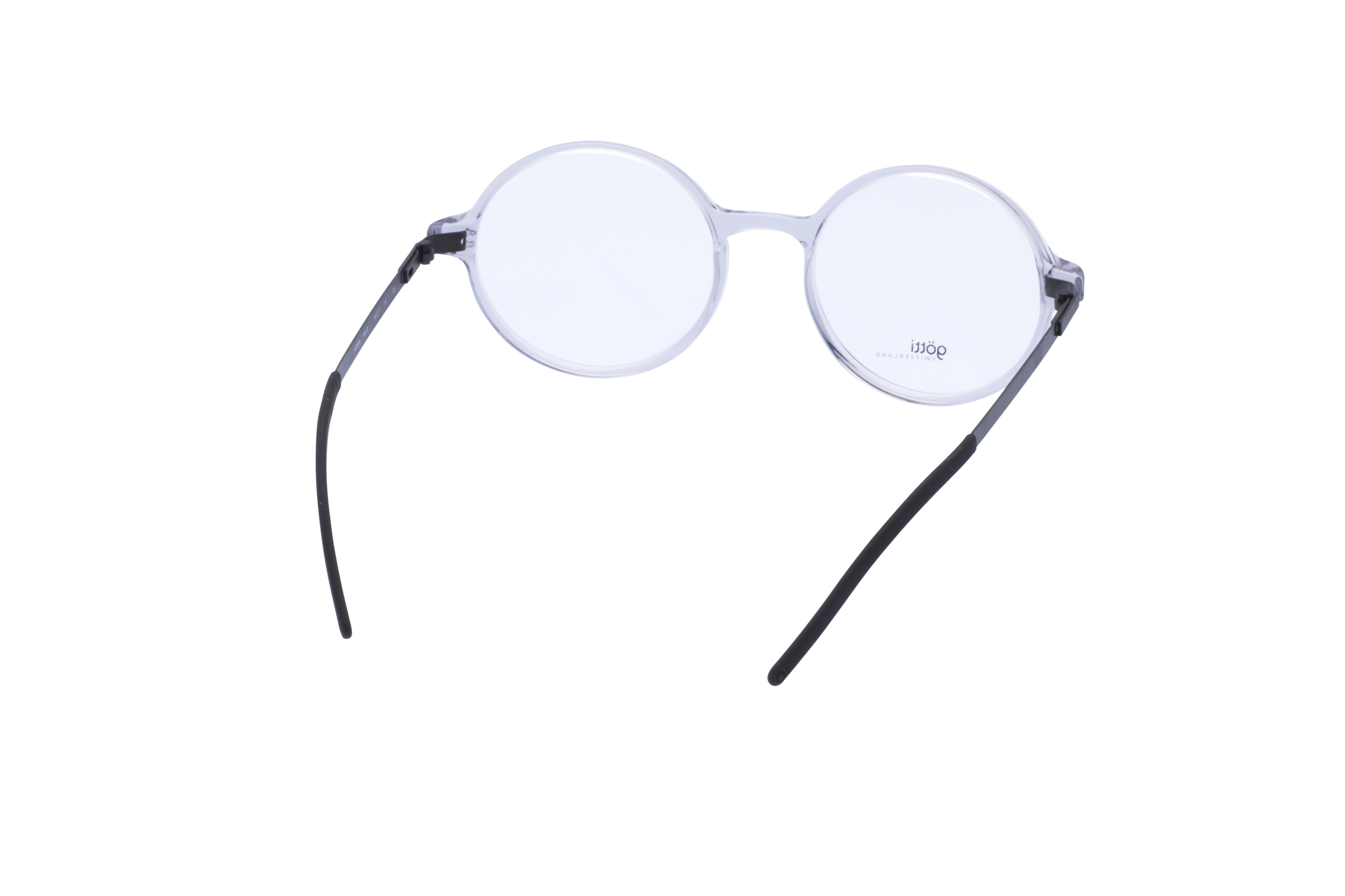 360 Grad Ansicht 11 Götti Sedrin, Brille auf Weiß - Fassung bei KUNK