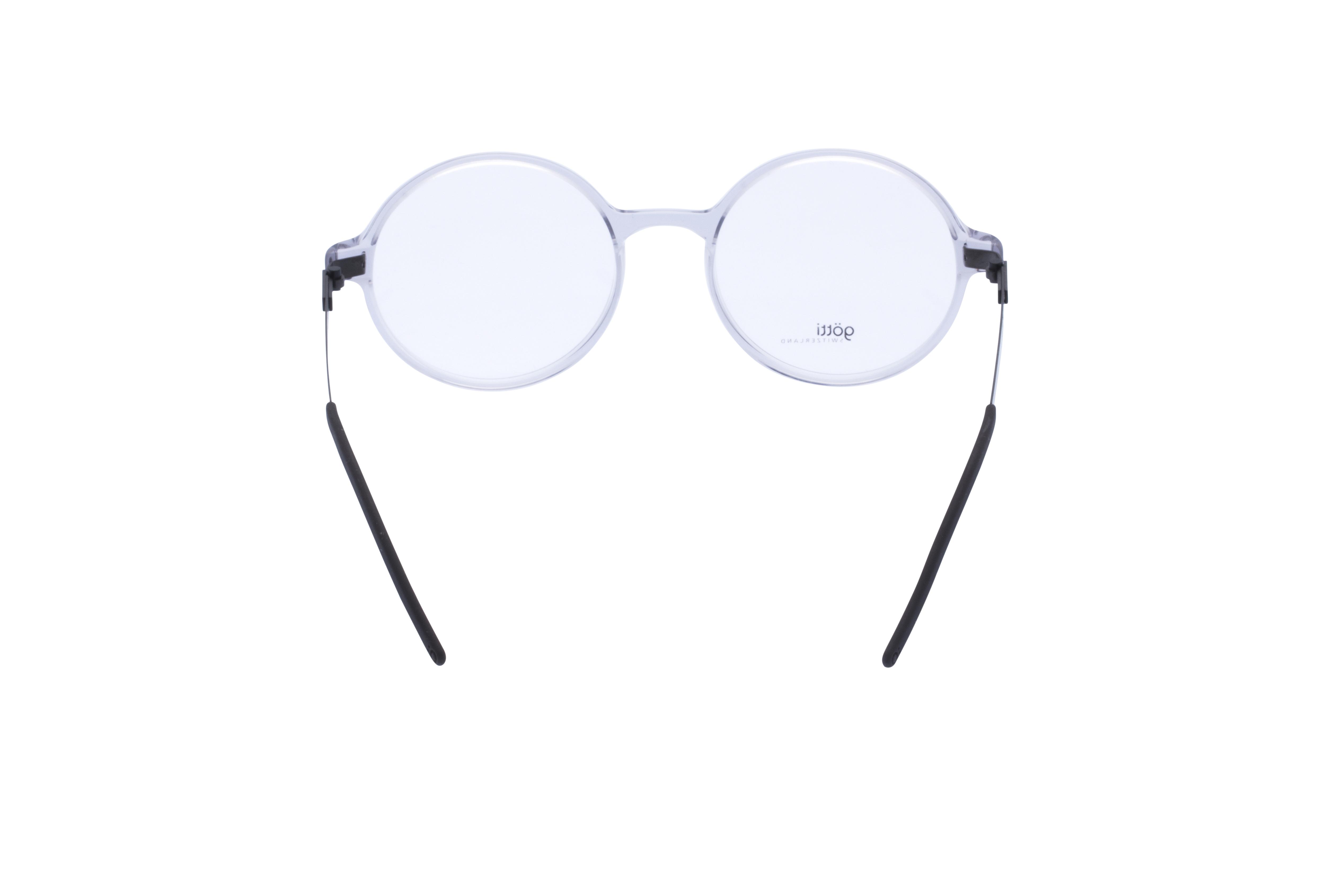 360 Grad Ansicht 12 Götti Sedrin, Brille auf Weiß - Fassung bei KUNK