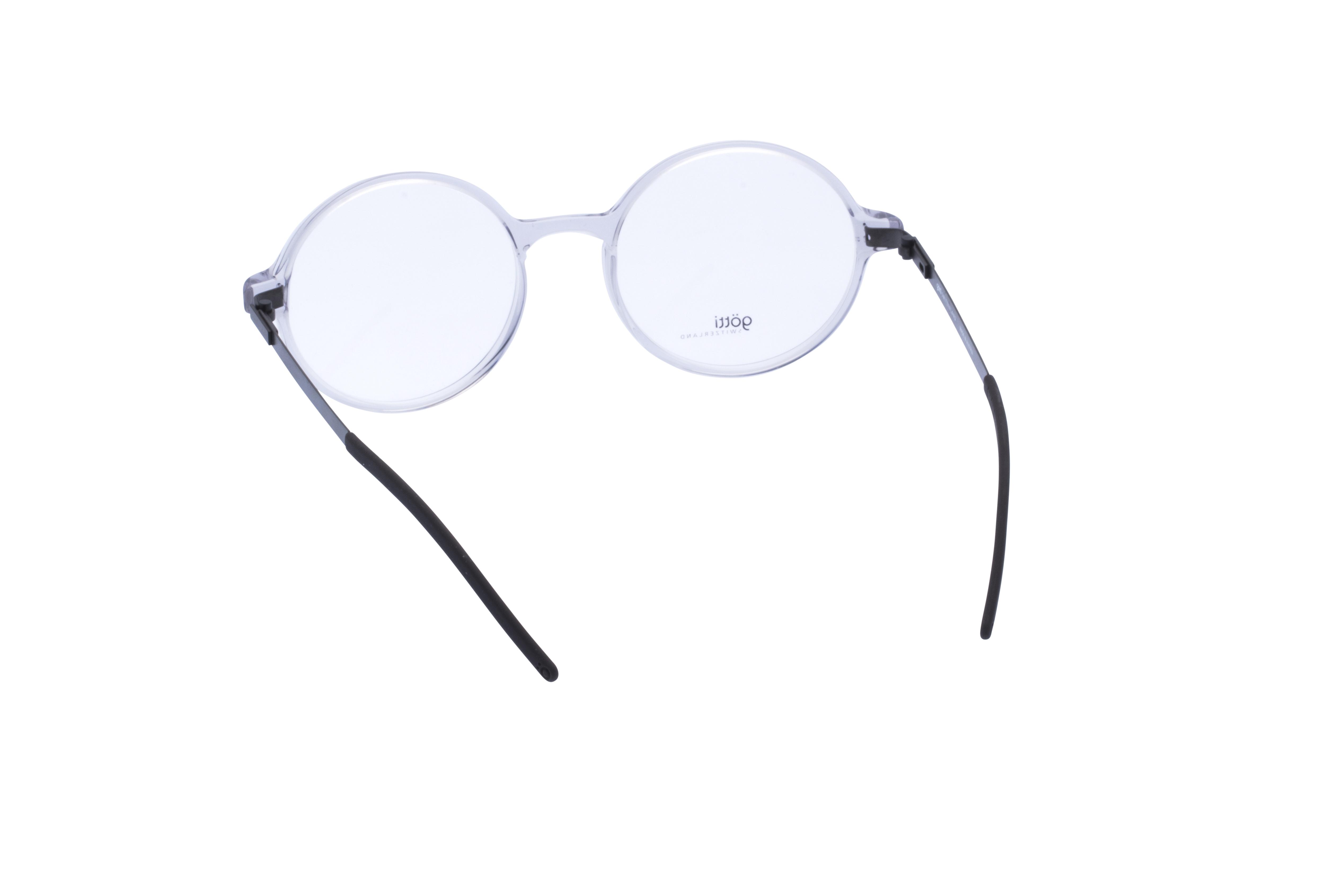 360 Grad Ansicht 13 Götti Sedrin, Brille auf Weiß - Fassung bei KUNK