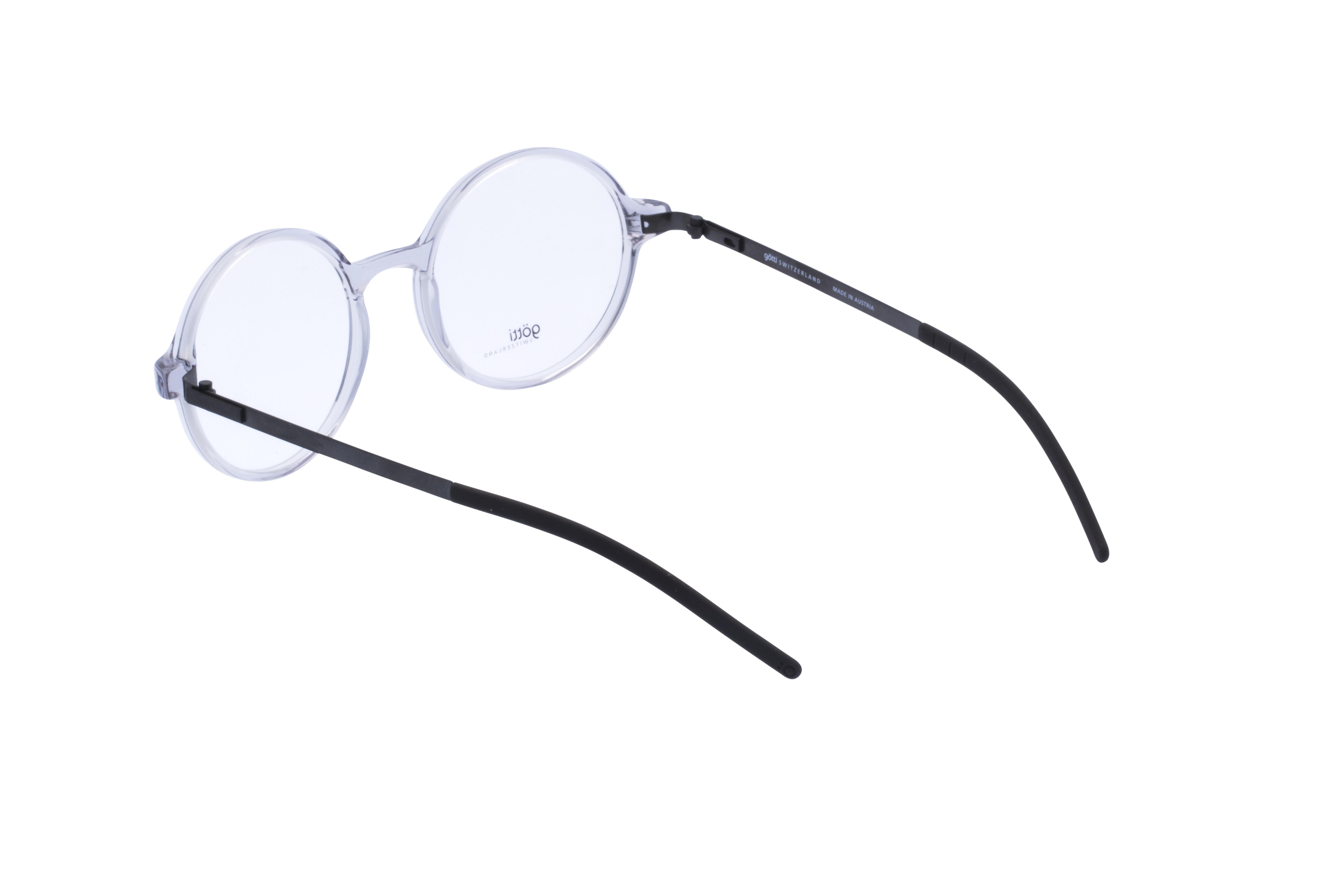 360 Grad Ansicht 15 Götti Sedrin, Brille auf Weiß - Fassung bei KUNK