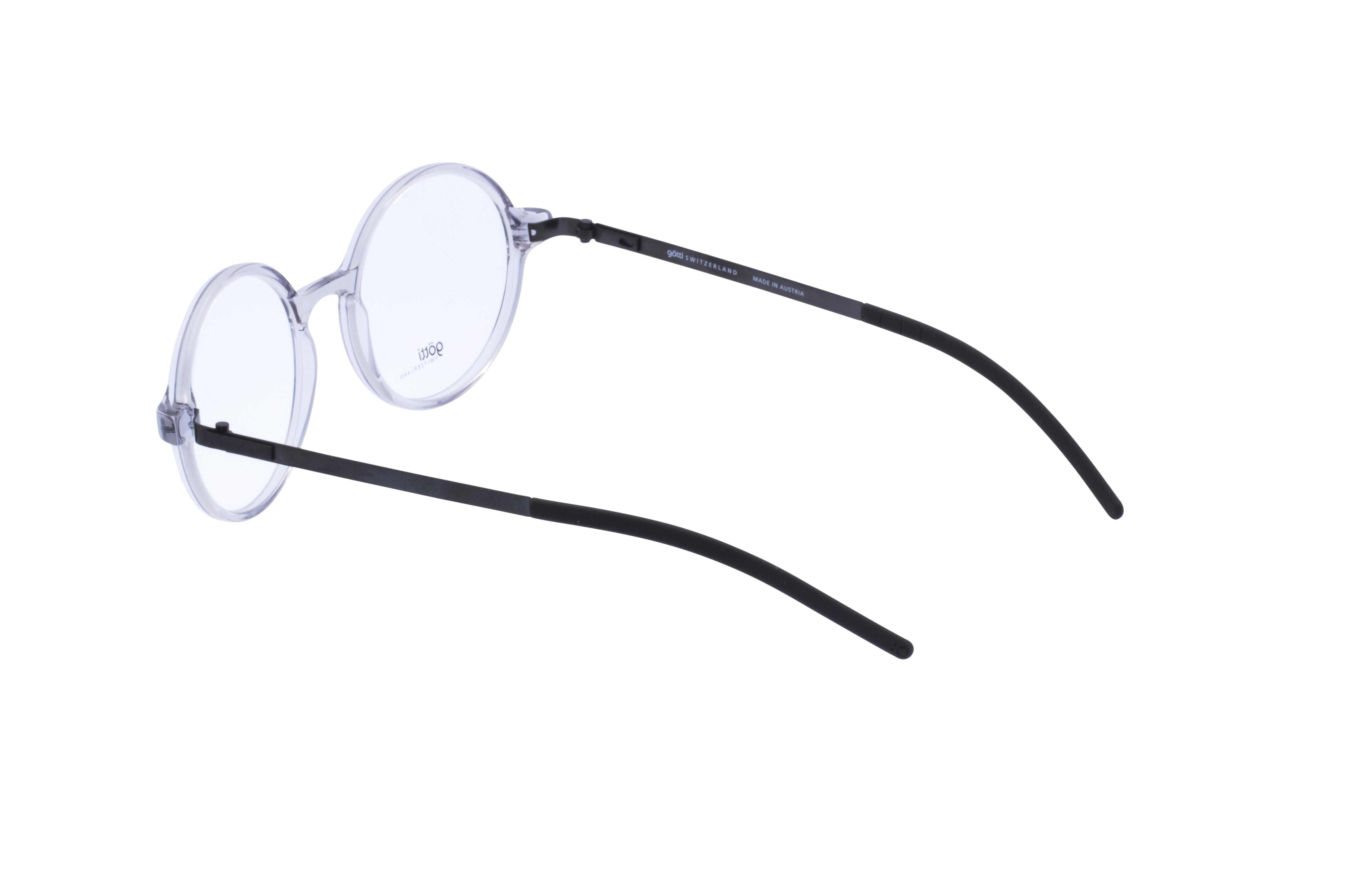 360 Grad Ansicht 16 Götti Sedrin, Brille auf Weiß - Fassung bei KUNK