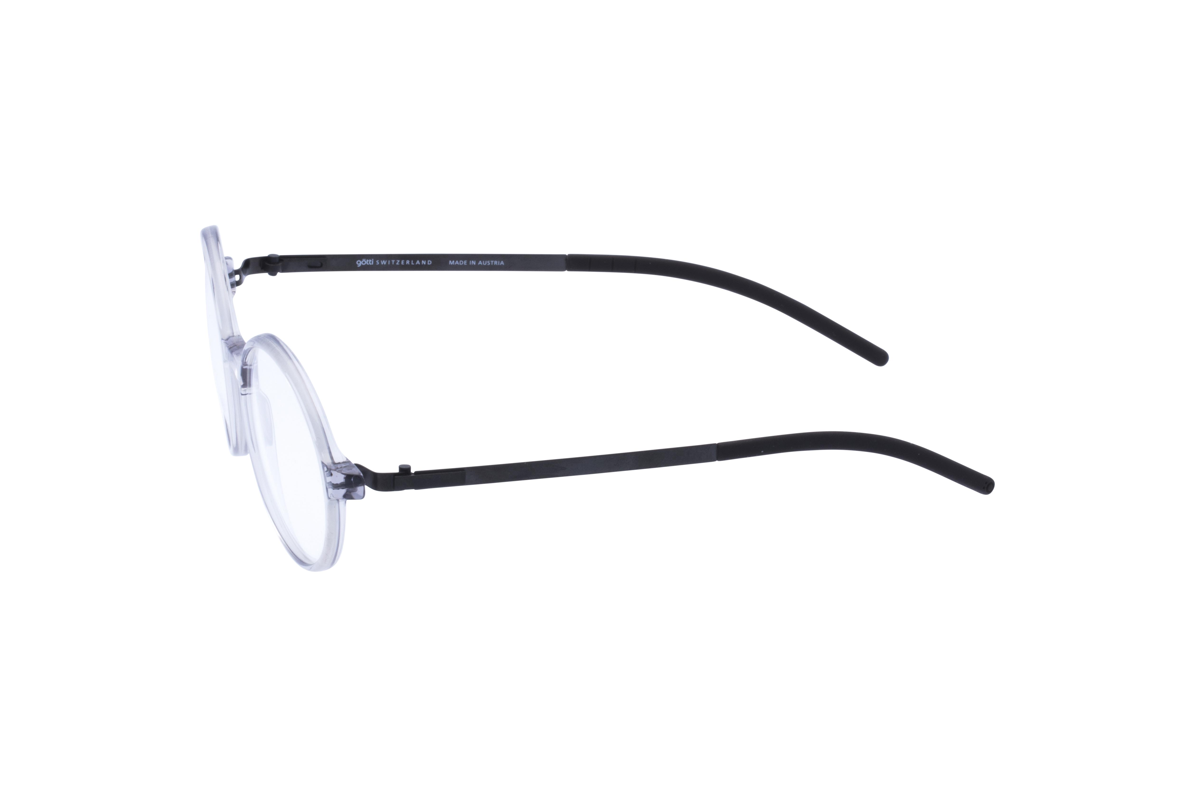360 Grad Ansicht 19 Götti Sedrin, Brille auf Weiß - Fassung bei KUNK