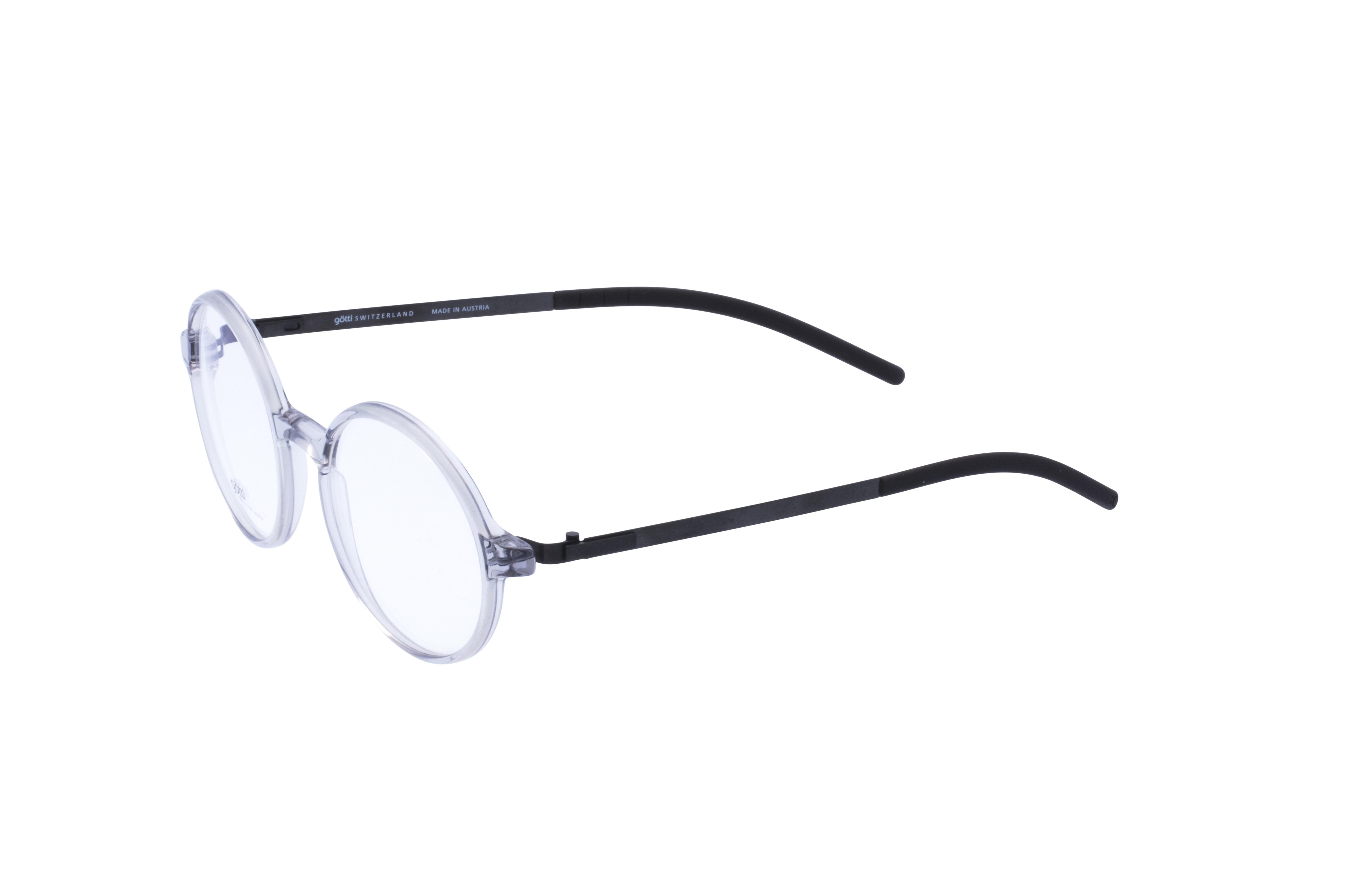360 Grad Ansicht 20 Götti Sedrin, Brille auf Weiß - Fassung bei KUNK