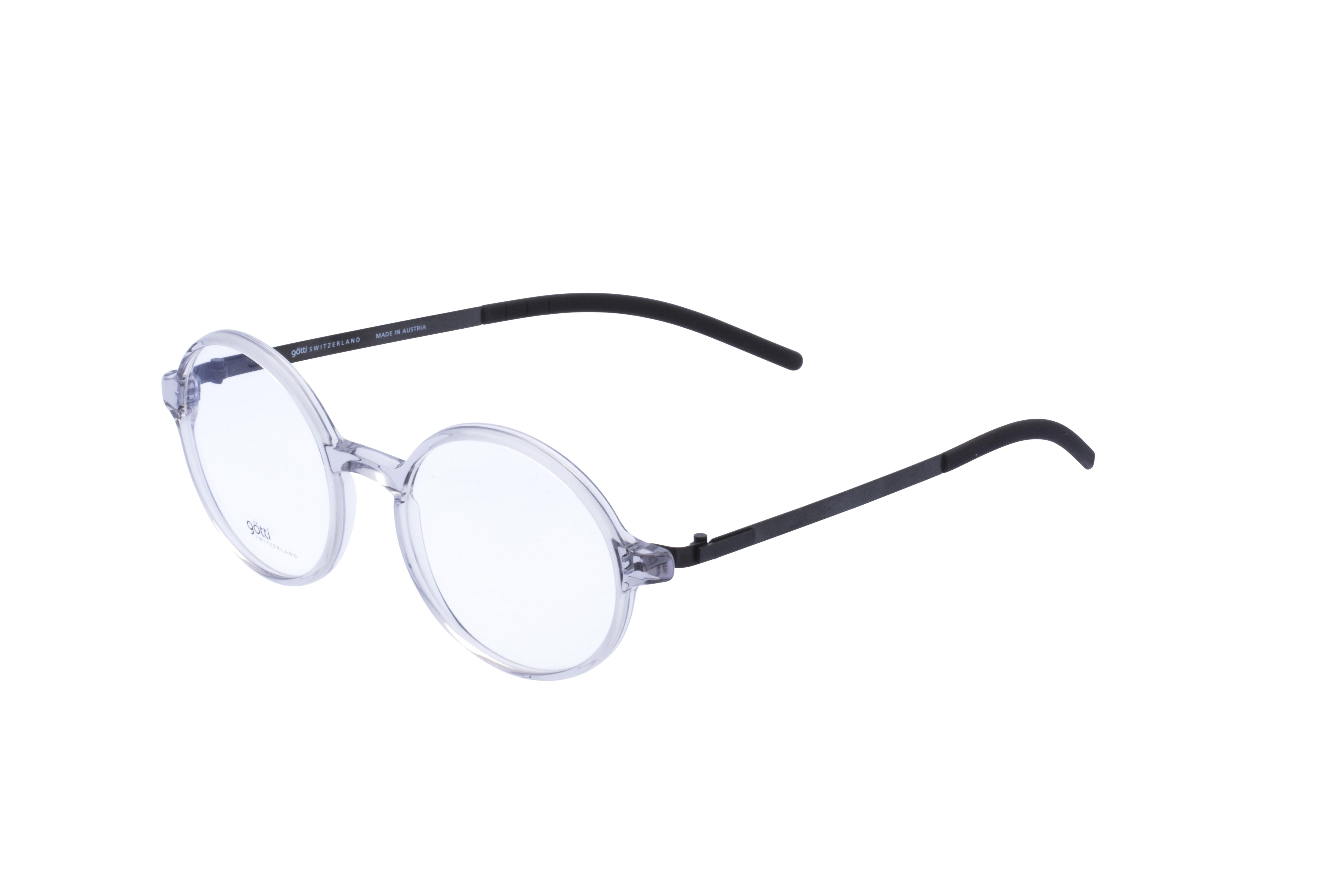 360 Grad Ansicht 21 Götti Sedrin, Brille auf Weiß - Fassung bei KUNK