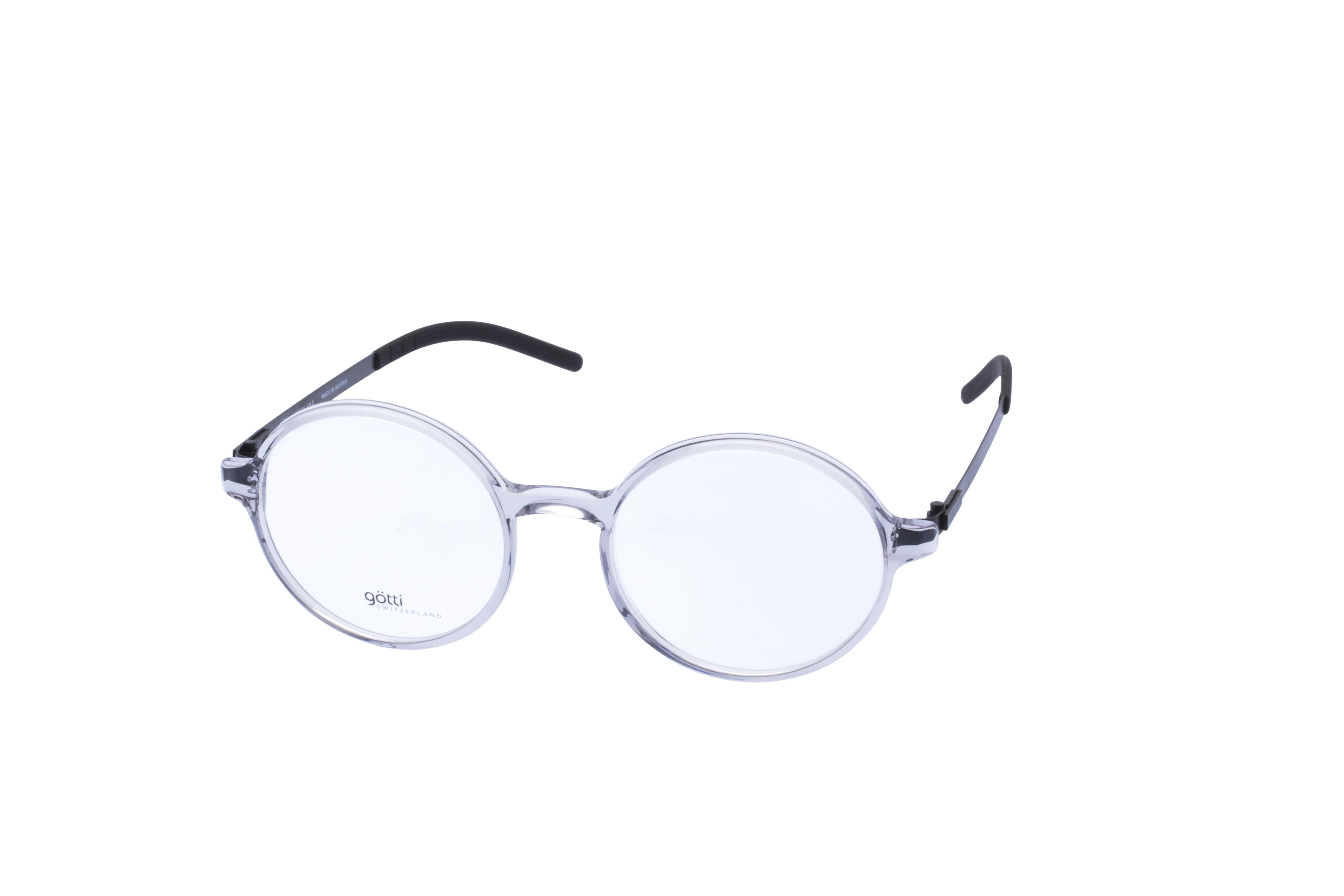 360 Grad Ansicht 23 Götti Sedrin, Brille auf Weiß - Fassung bei KUNK