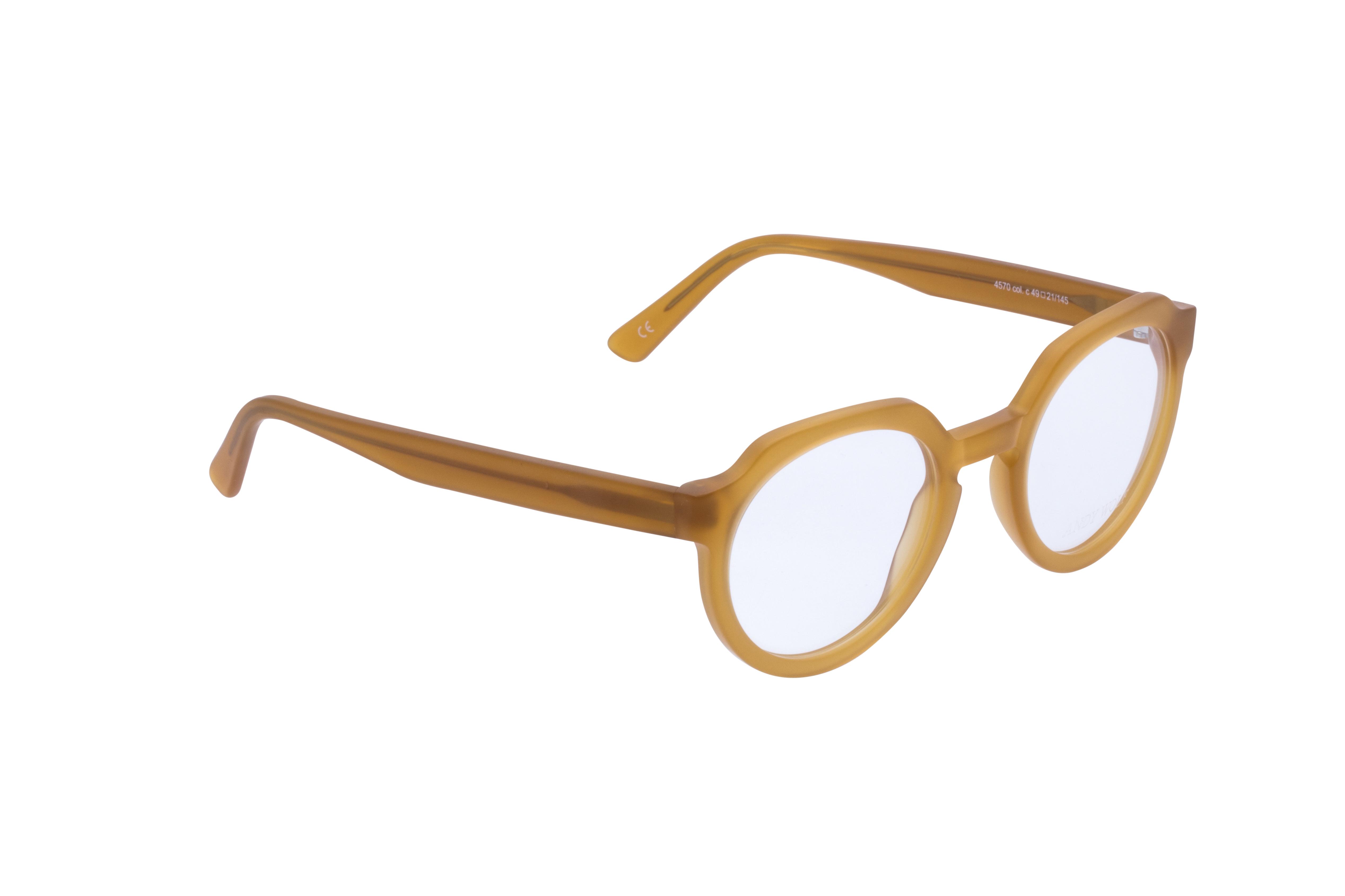 360 Grad Ansicht 3 Andy Wolf 4570, Brille auf Weiß - Fassung bei KUNK