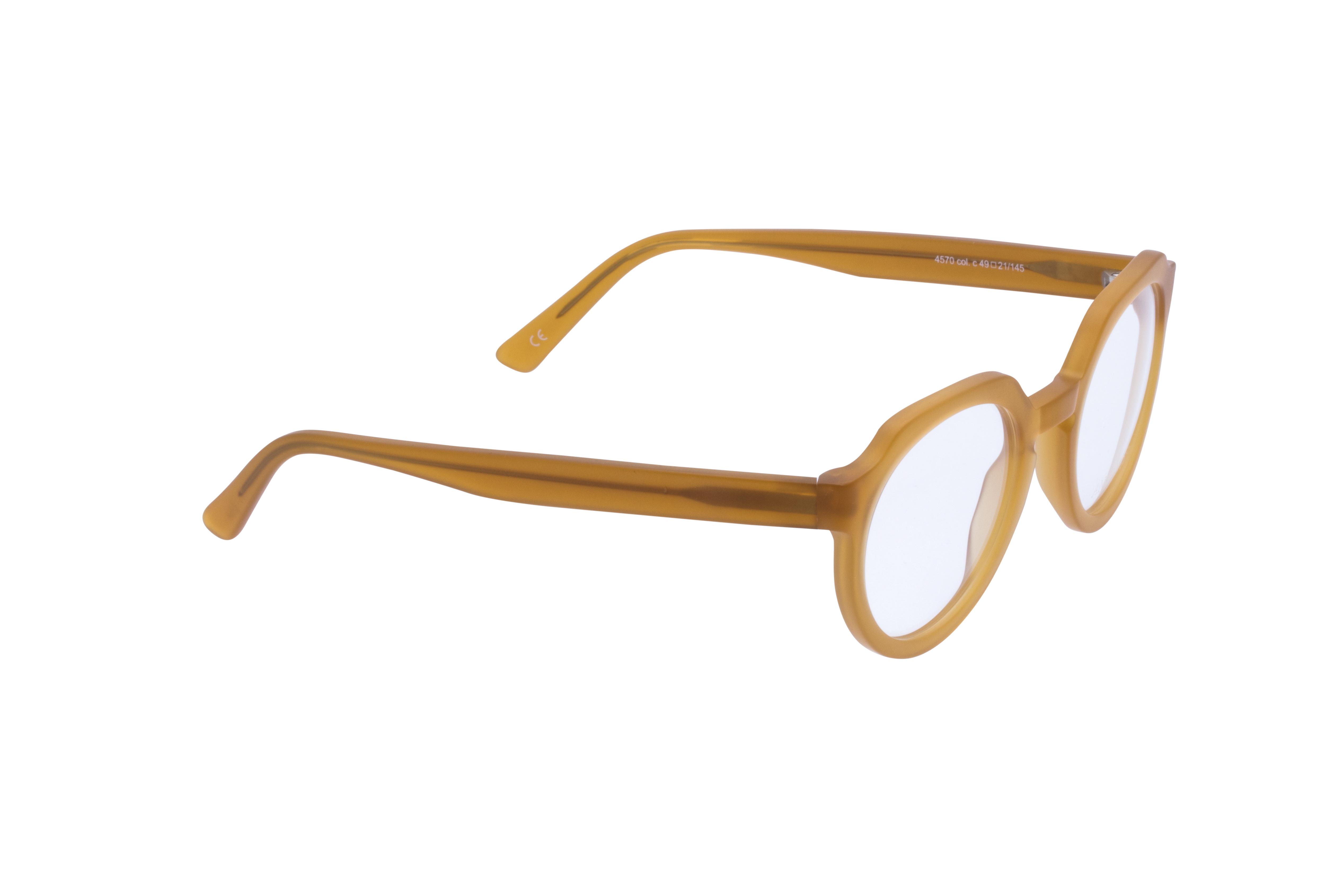 360 Grad Ansicht 4 Andy Wolf 4570, Brille auf Weiß - Fassung bei KUNK