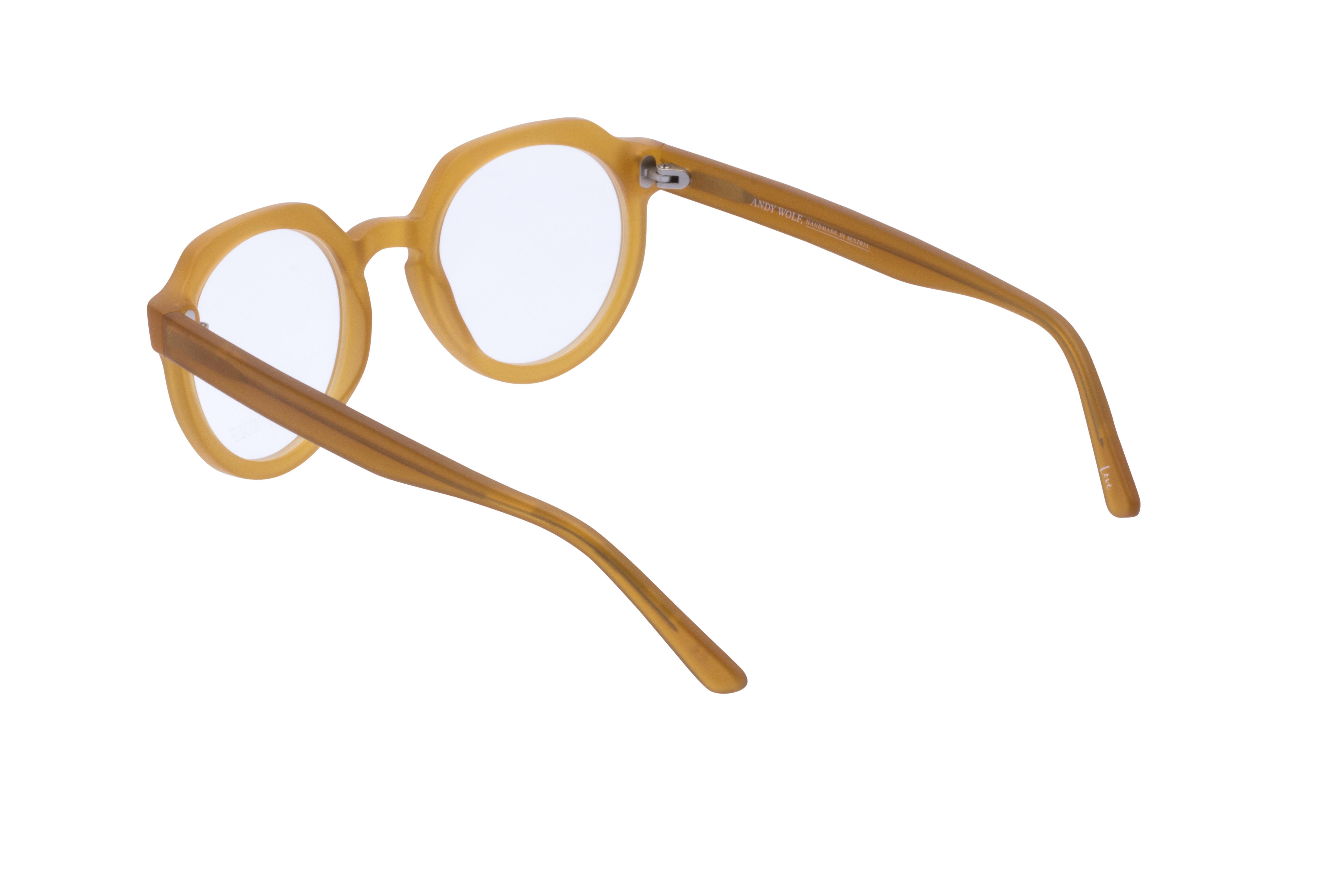 360 Grad Ansicht 15 Andy Wolf 4570, Brille auf Weiß - Fassung bei KUNK