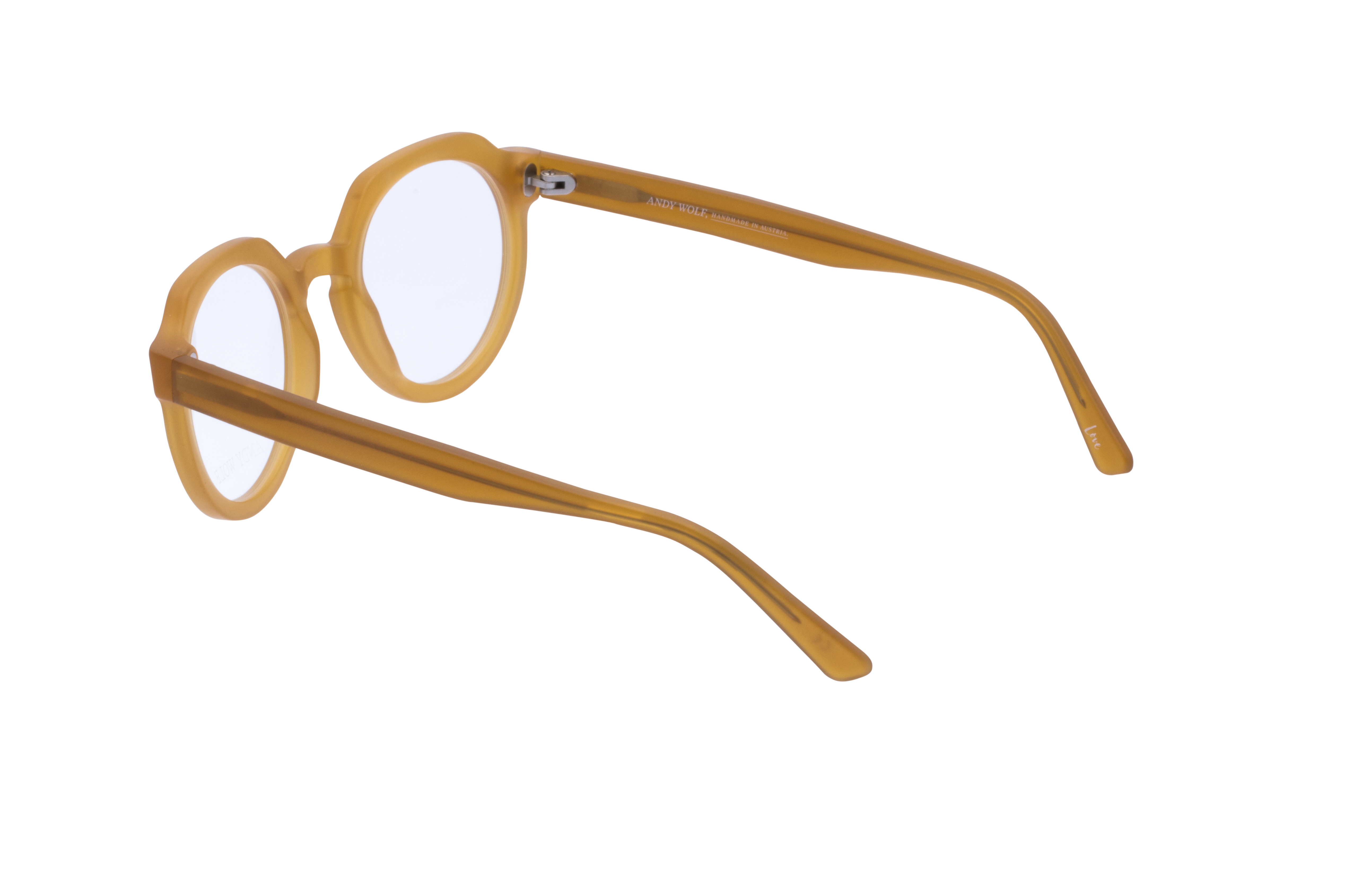 360 Grad Ansicht 16 Andy Wolf 4570, Brille auf Weiß - Fassung bei KUNK