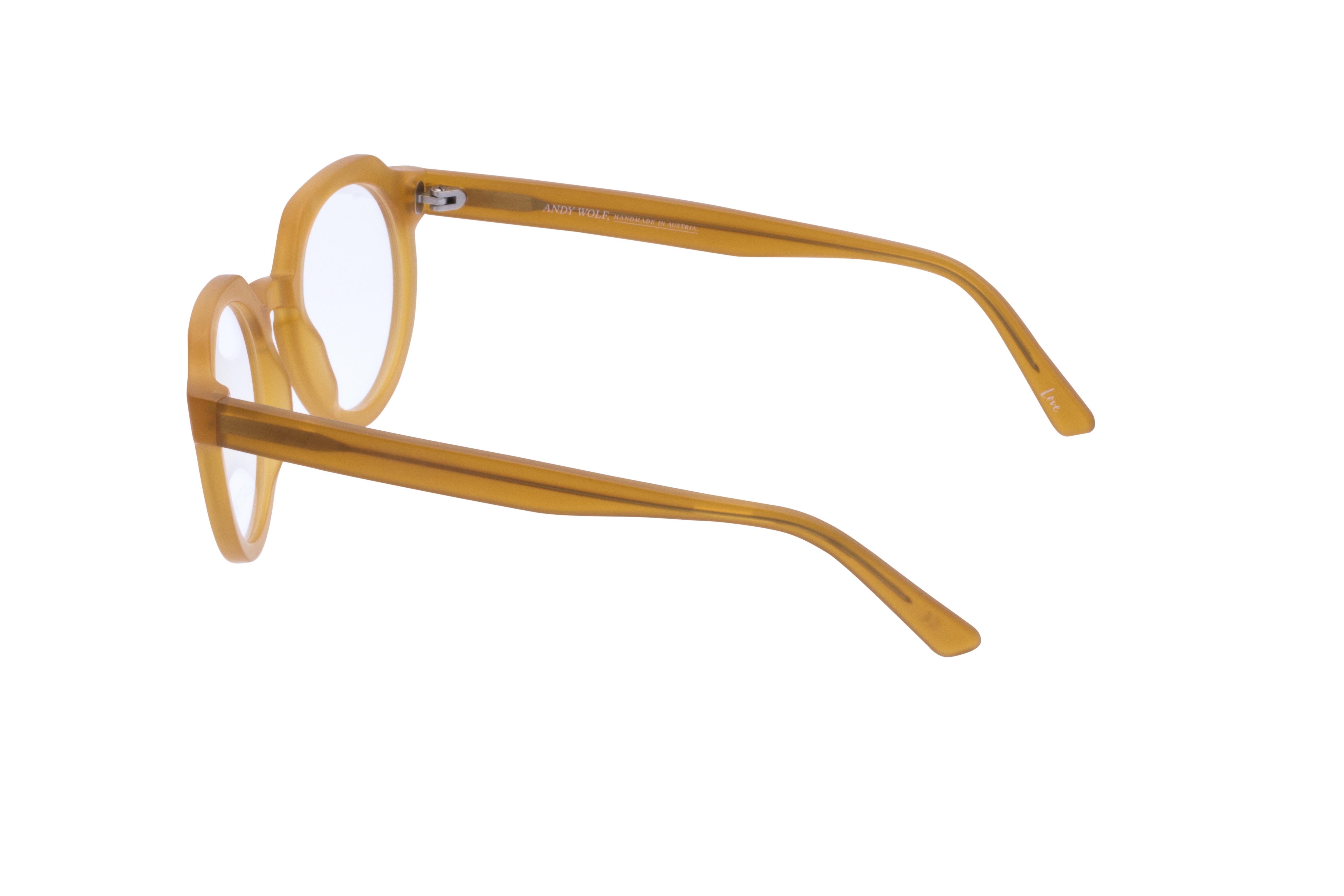 360 Grad Ansicht 17 Andy Wolf 4570, Brille auf Weiß - Fassung bei KUNK