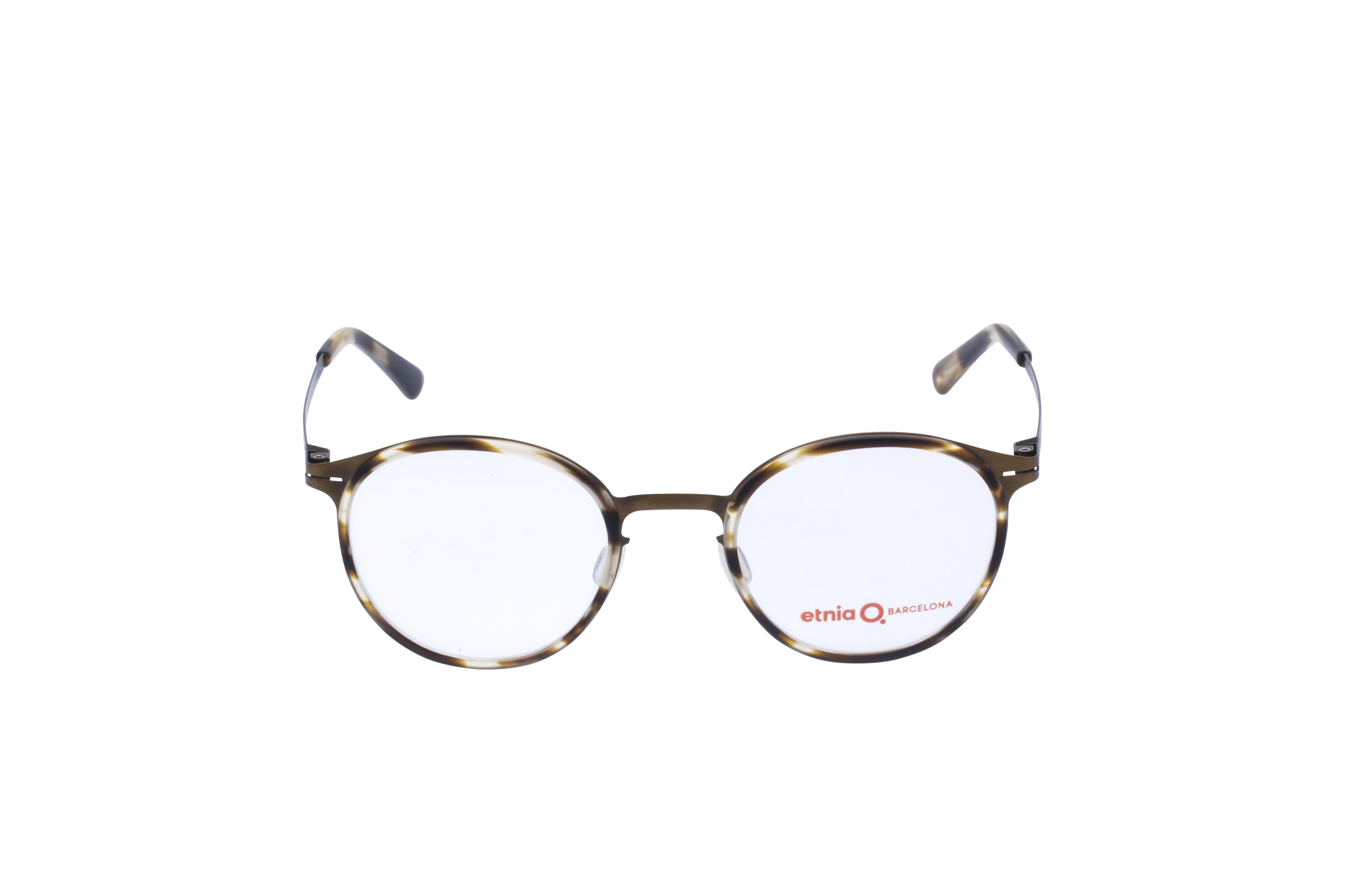 Etnia Ulm Frontansicht, Brille auf Weiß