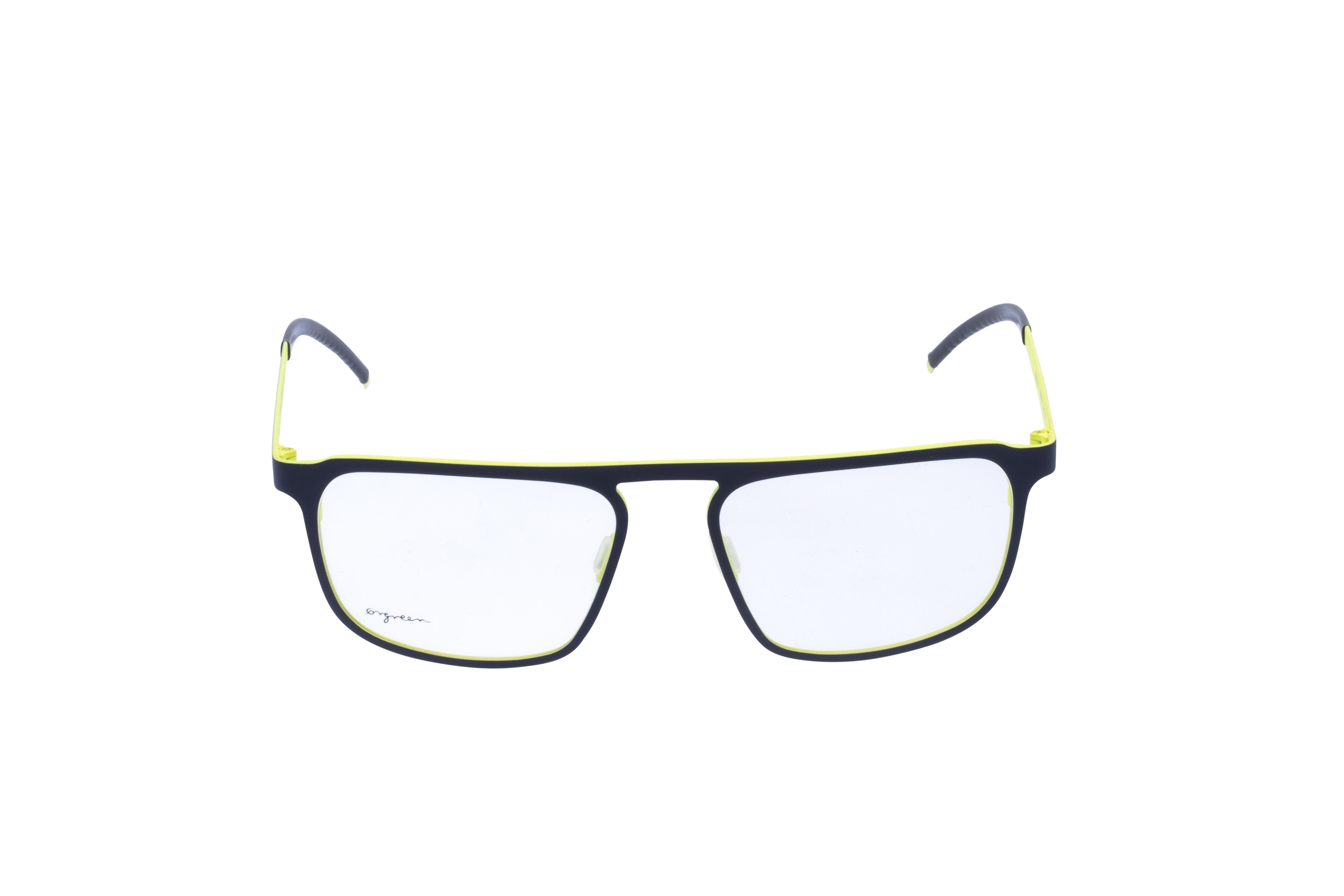 Orgreen Crow Frontansicht, Brille auf Weiß - Fassung bei KUNK