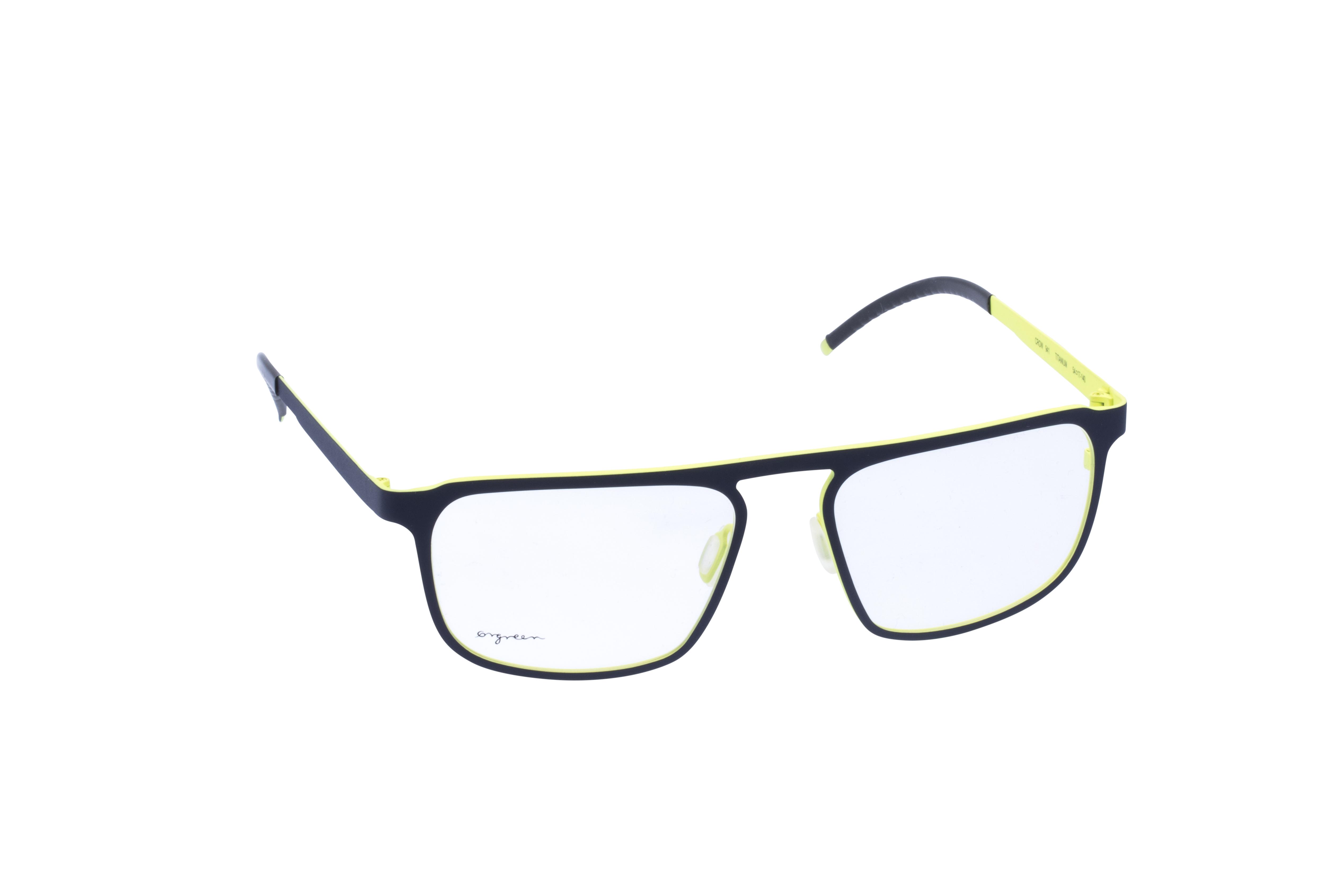 360 Grad Ansicht 1 Orgreen Crow, Brille auf Weiß - Fassung bei KUNK