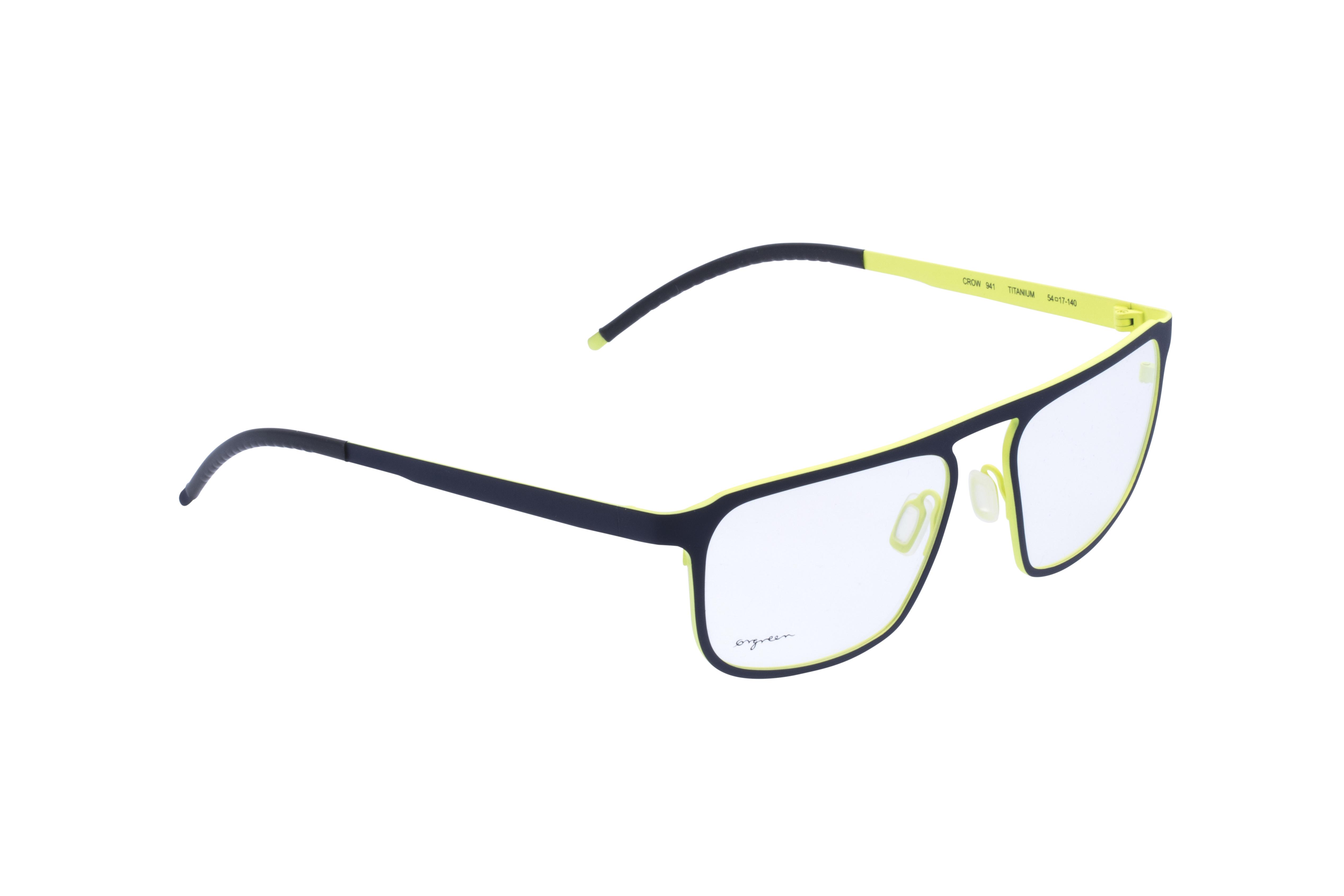 360 Grad Ansicht 3 Orgreen Crow, Brille auf Weiß - Fassung bei KUNK