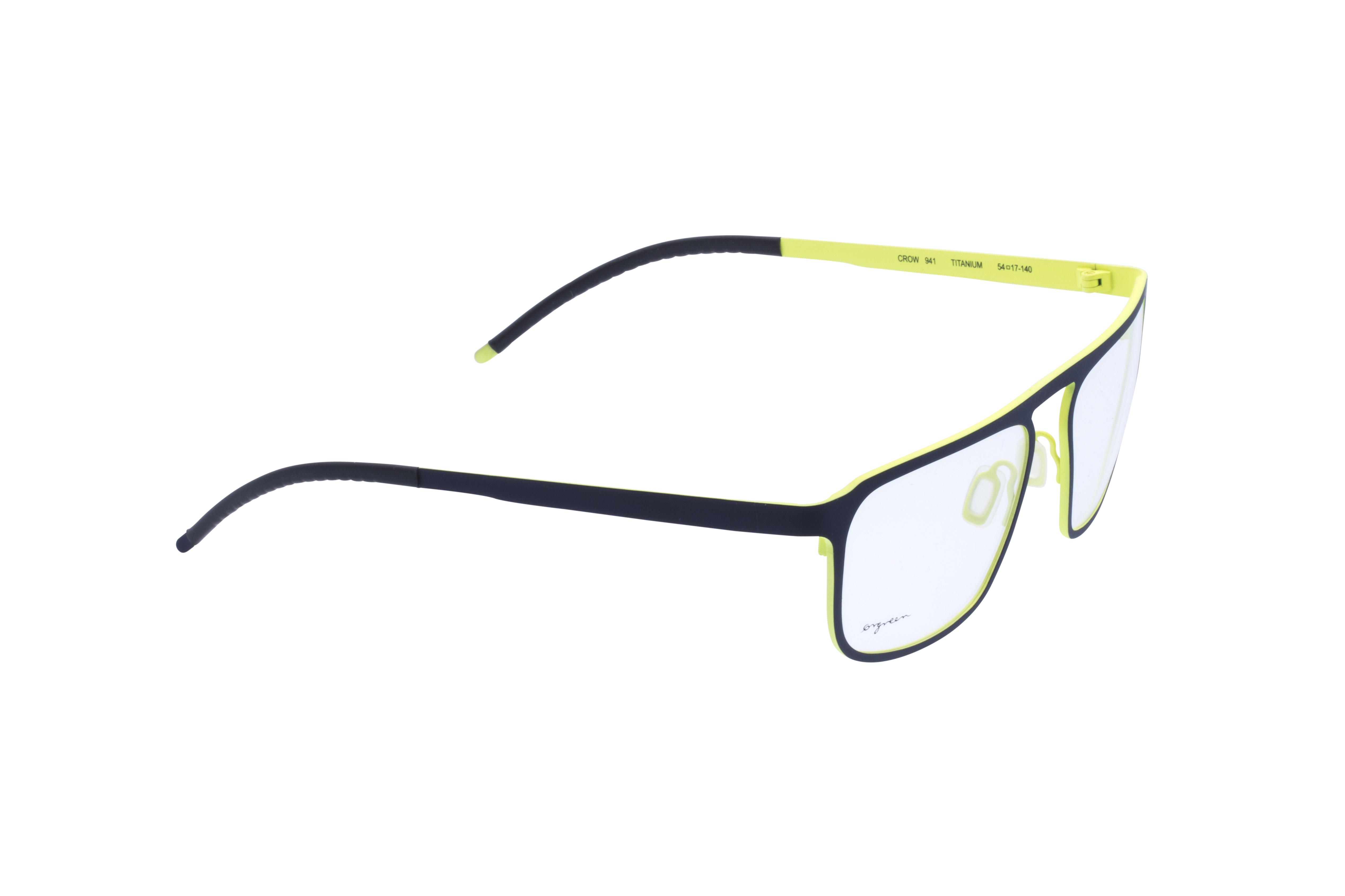360 Grad Ansicht 4 Orgreen Crow, Brille auf Weiß - Fassung bei KUNK