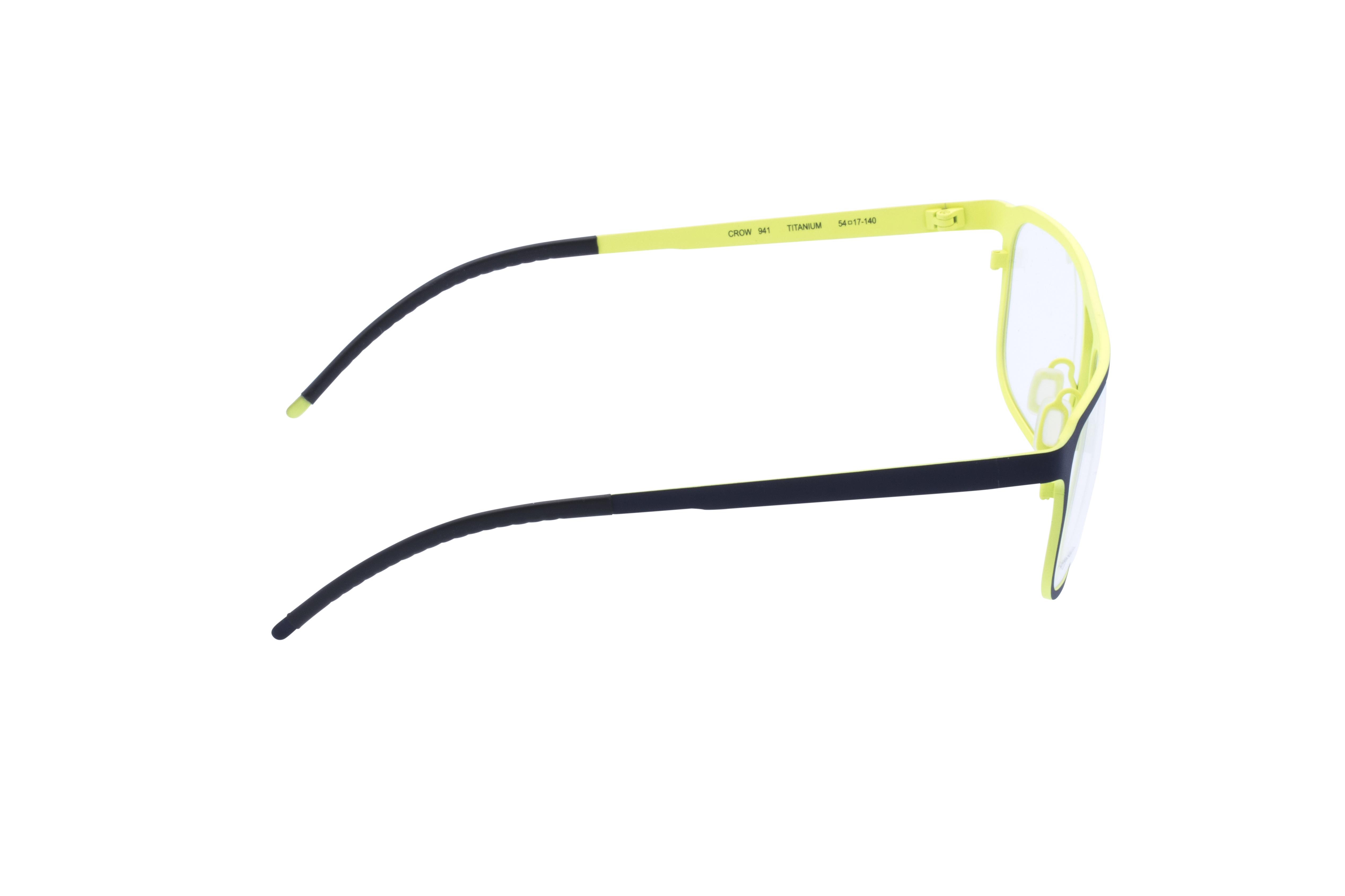 360 Grad Ansicht 6 Orgreen Crow, Brille auf Weiß - Fassung bei KUNK