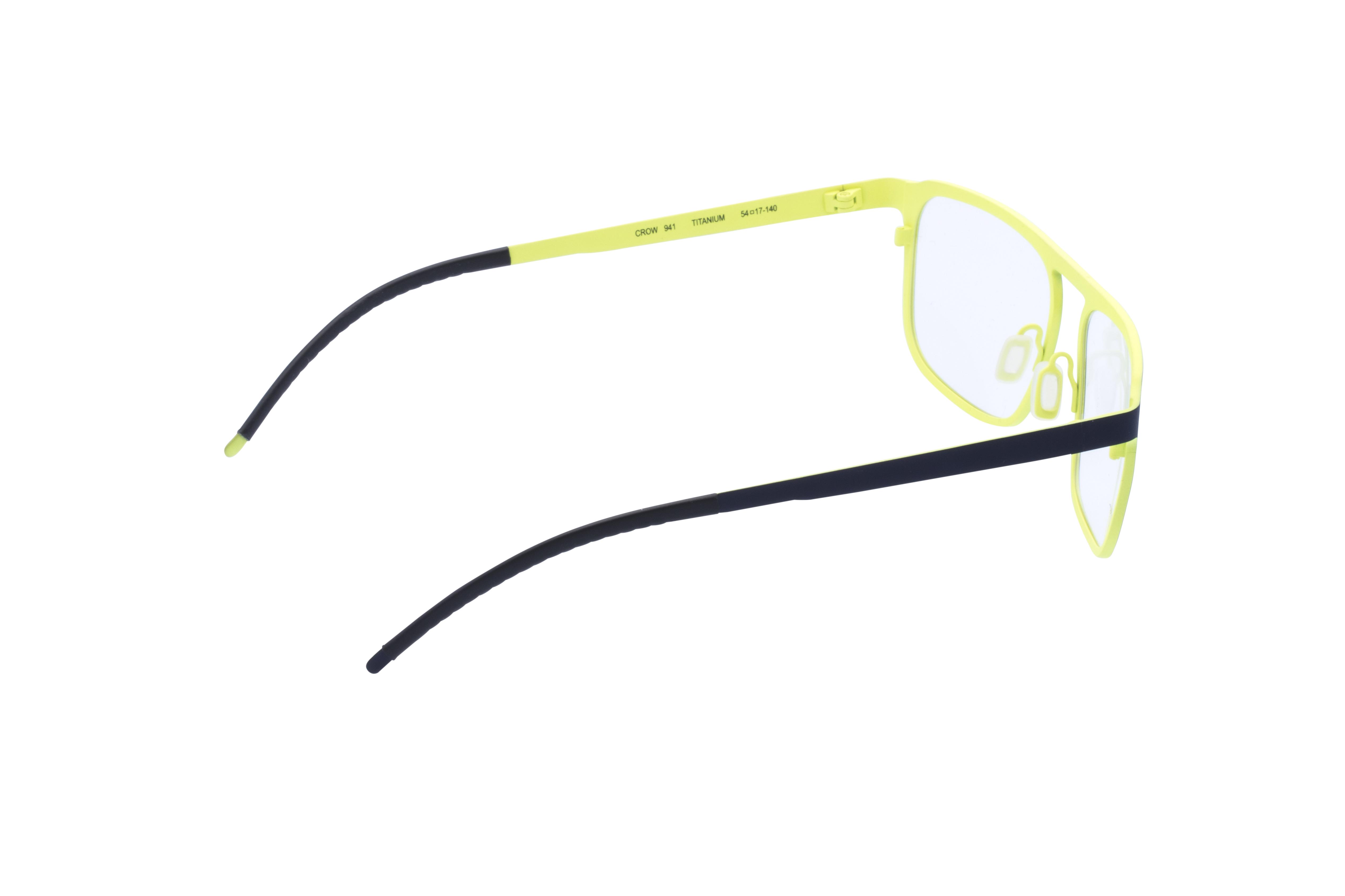 360 Grad Ansicht 7 Orgreen Crow, Brille auf Weiß - Fassung bei KUNK