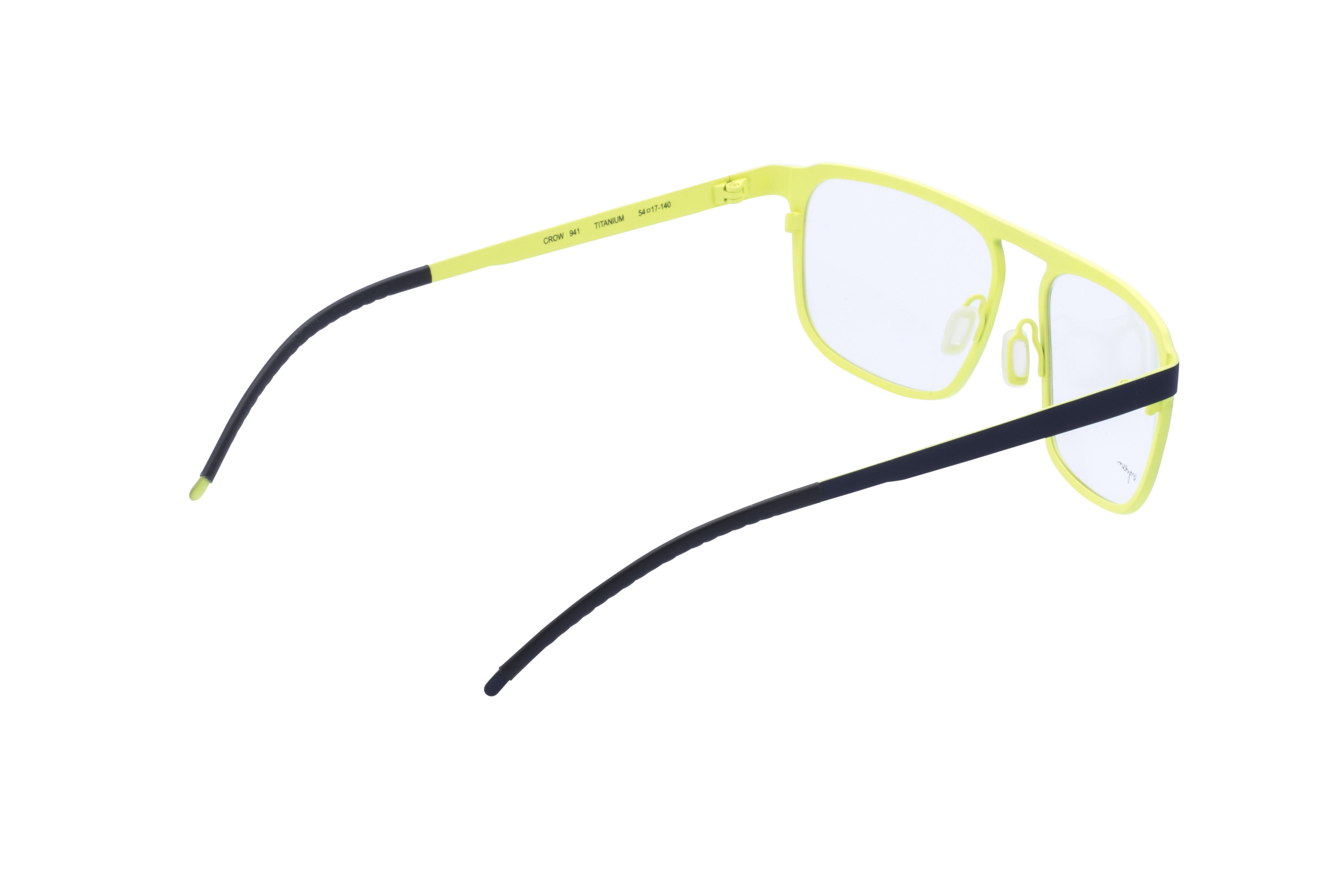 360 Grad Ansicht 8 Orgreen Crow, Brille auf Weiß - Fassung bei KUNK
