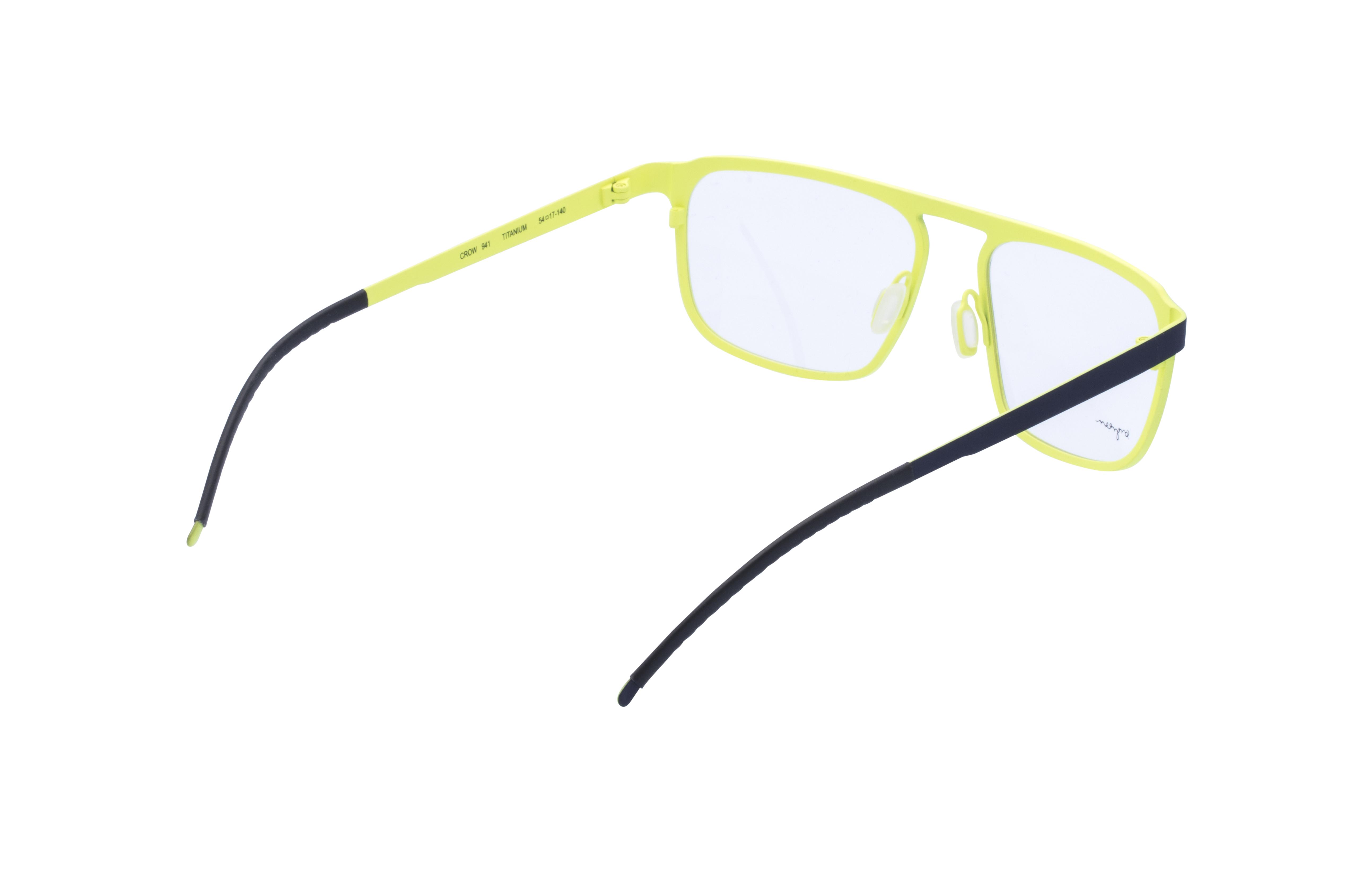360 Grad Ansicht 9 Orgreen Crow, Brille auf Weiß - Fassung bei KUNK