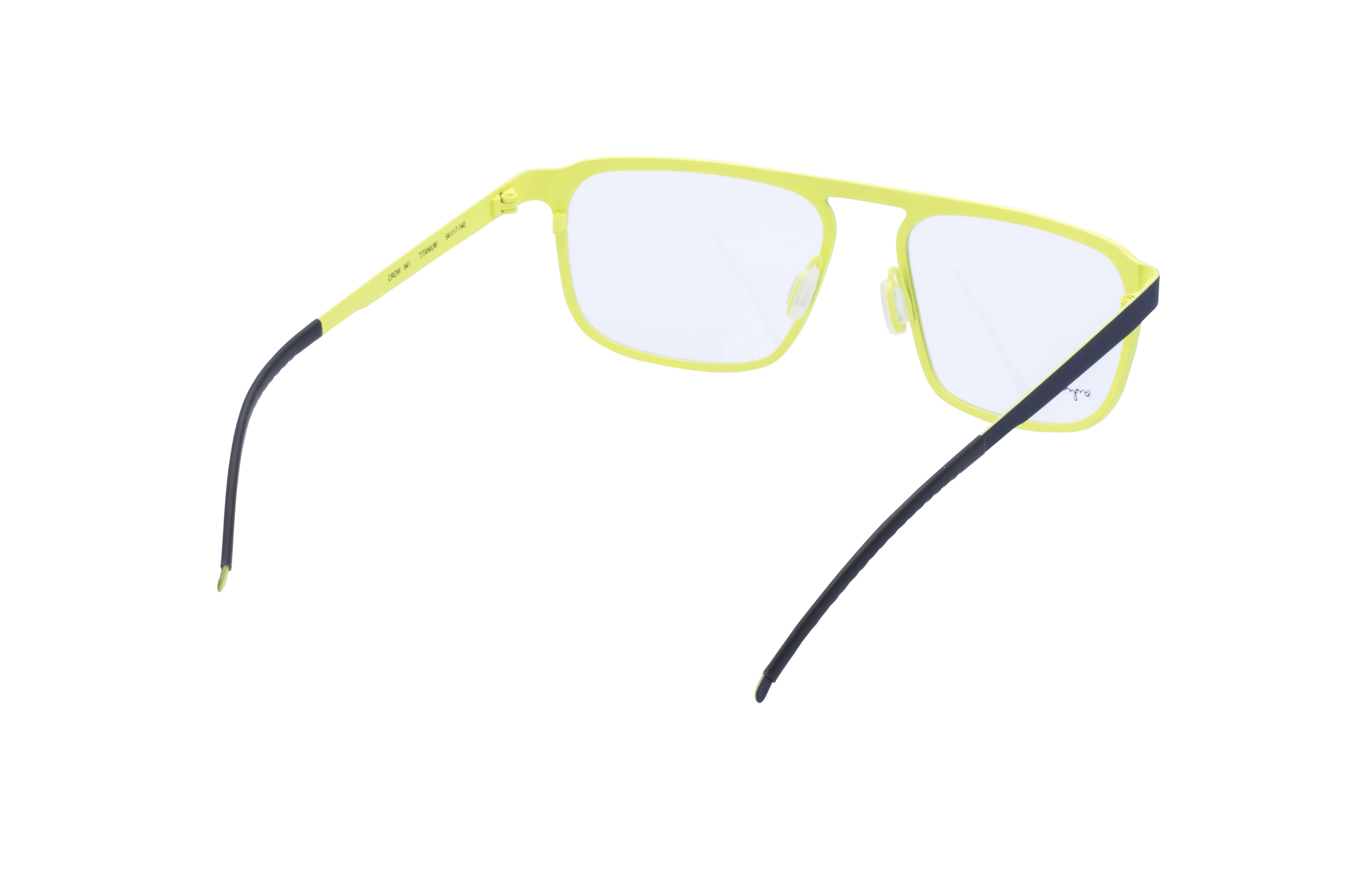 360 Grad Ansicht 10 Orgreen Crow, Brille auf Weiß - Fassung bei KUNK
