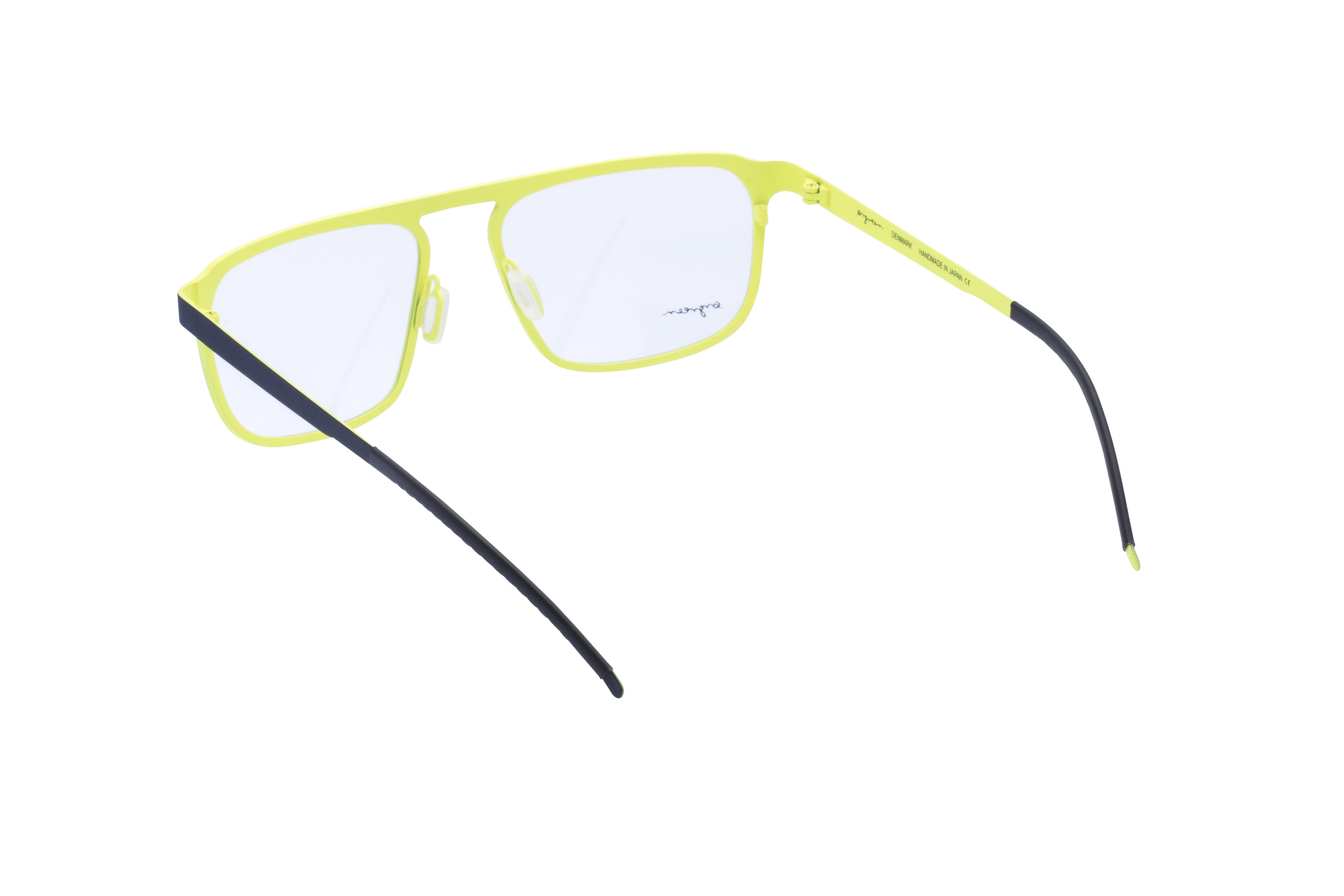 360 Grad Ansicht 14 Orgreen Crow, Brille auf Weiß - Fassung bei KUNK