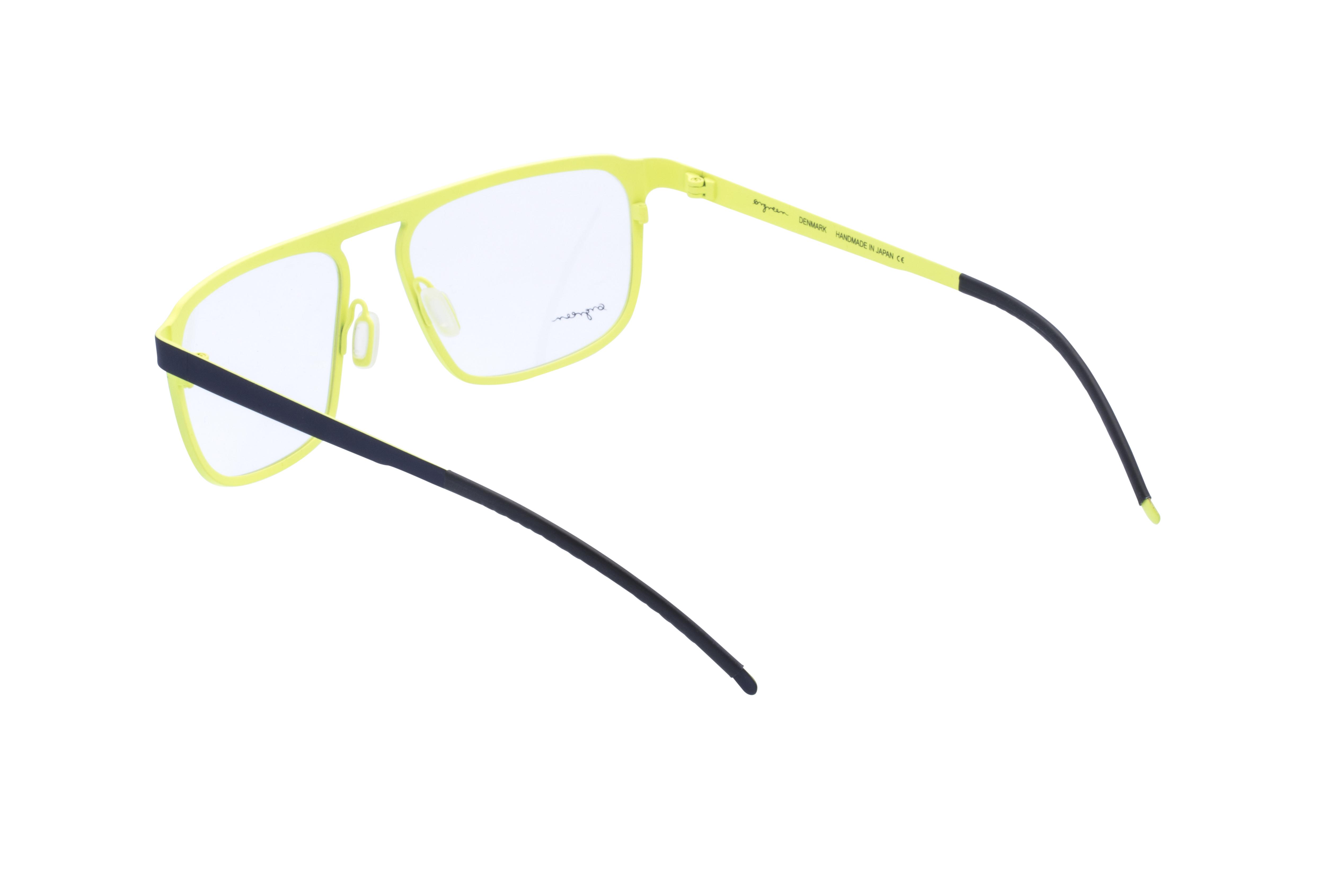 360 Grad Ansicht 15 Orgreen Crow, Brille auf Weiß - Fassung bei KUNK