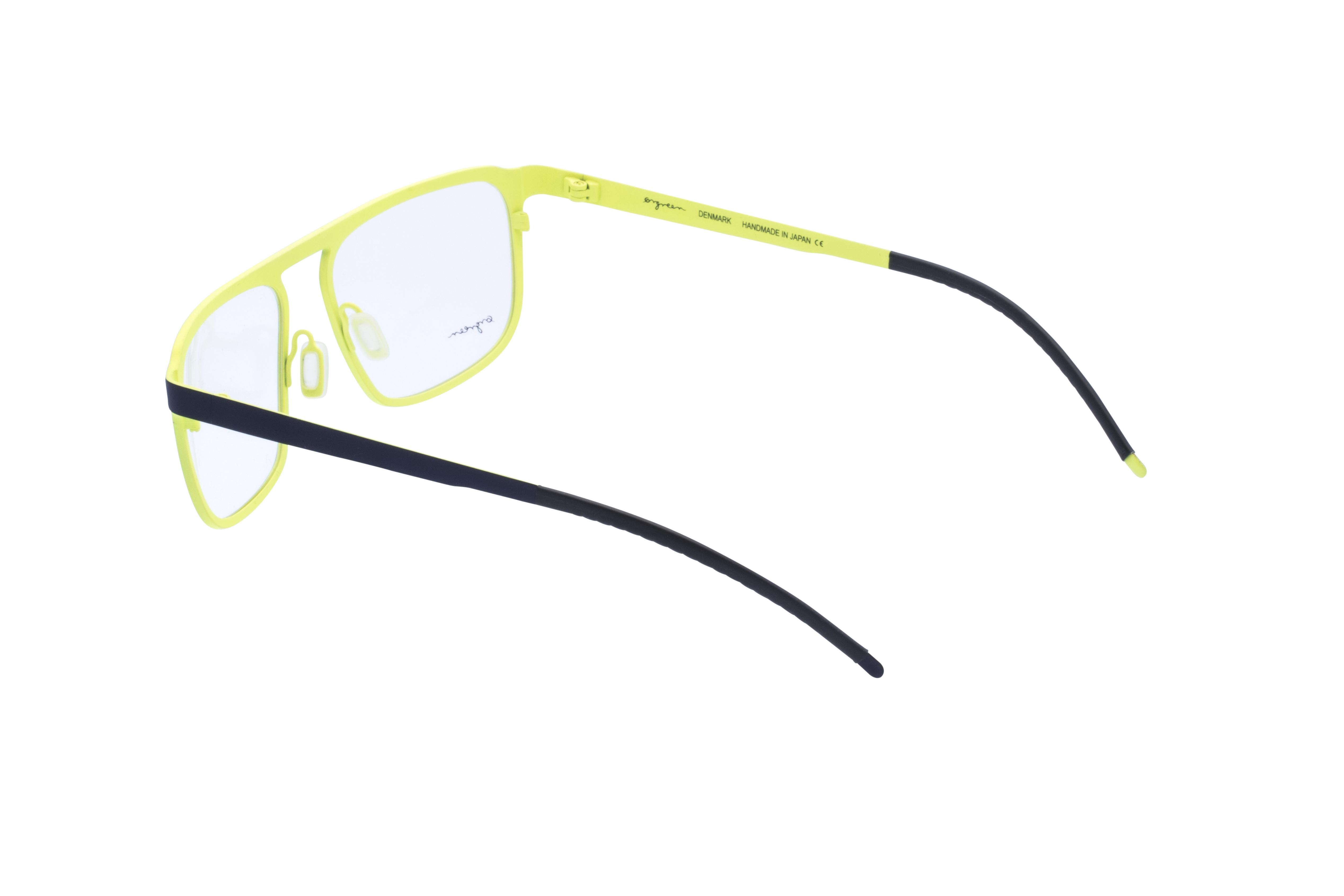 360 Grad Ansicht 16 Orgreen Crow, Brille auf Weiß - Fassung bei KUNK