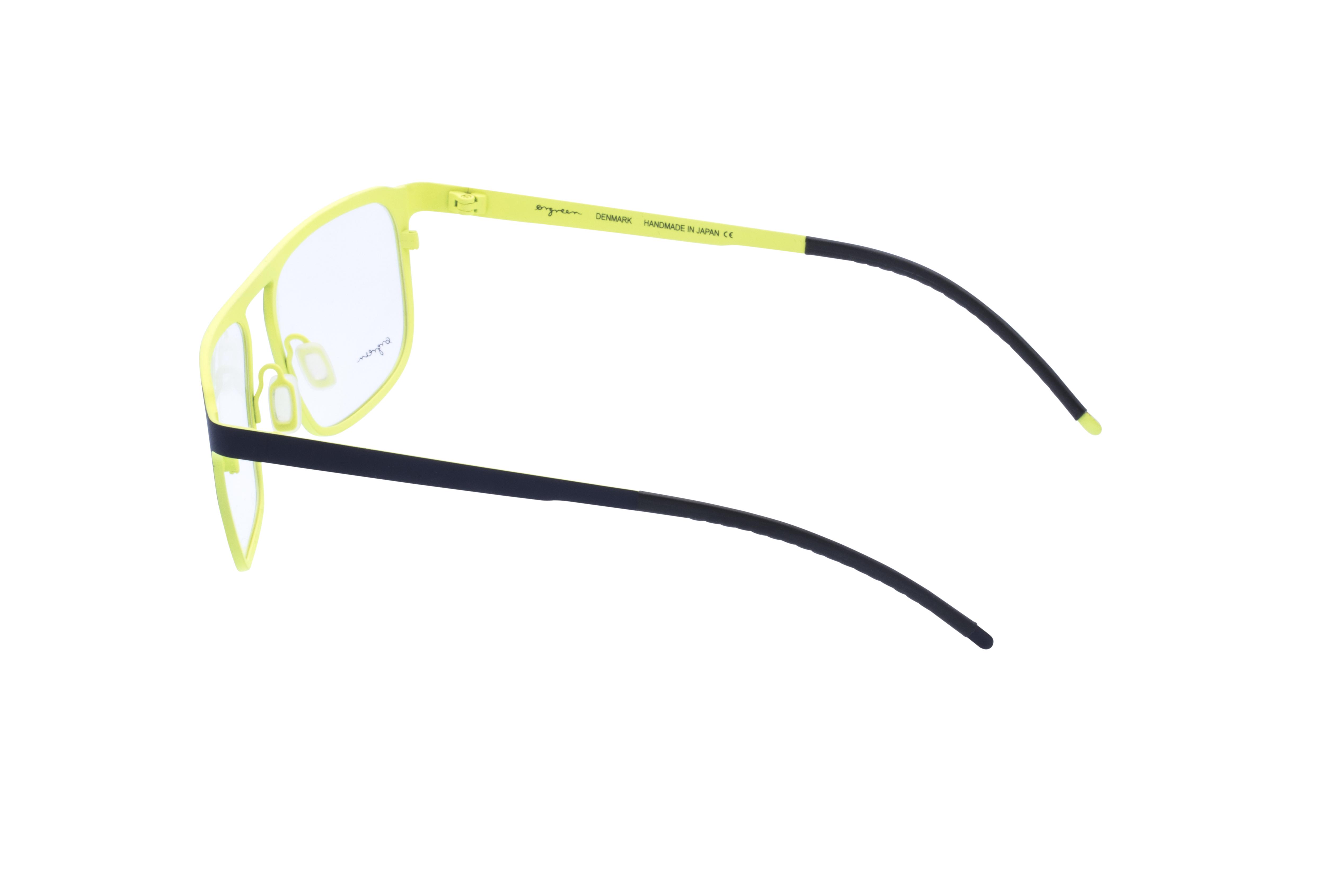 360 Grad Ansicht 17 Orgreen Crow, Brille auf Weiß - Fassung bei KUNK