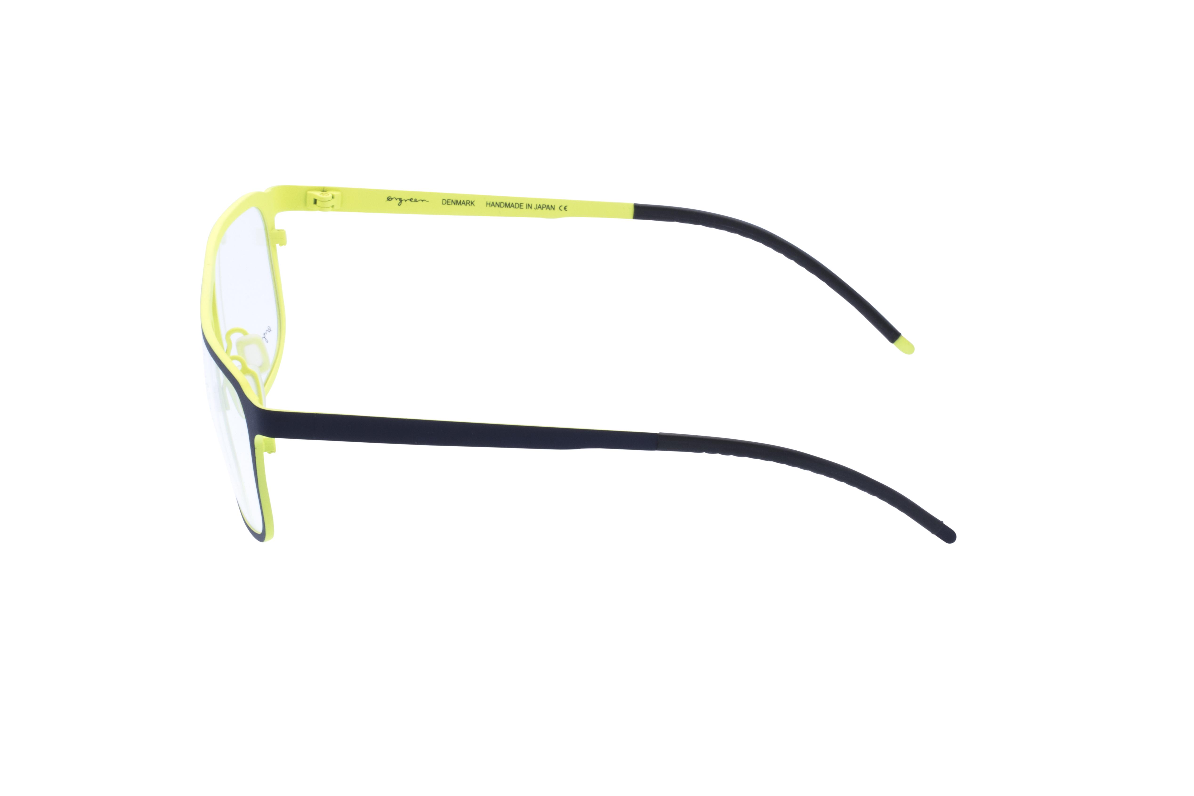 360 Grad Ansicht 18 Orgreen Crow, Brille auf Weiß - Fassung bei KUNK