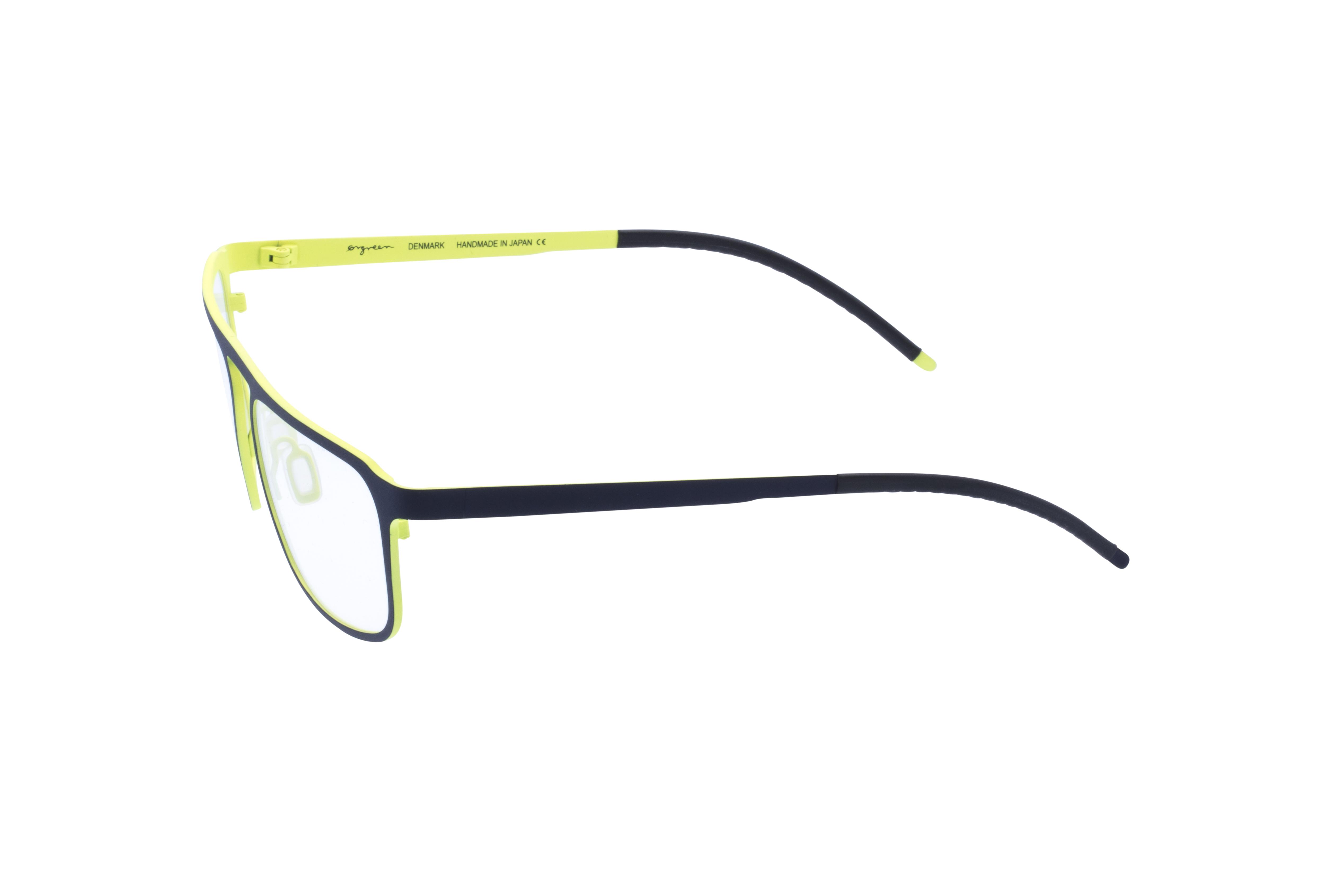 360 Grad Ansicht 19 Orgreen Crow, Brille auf Weiß - Fassung bei KUNK