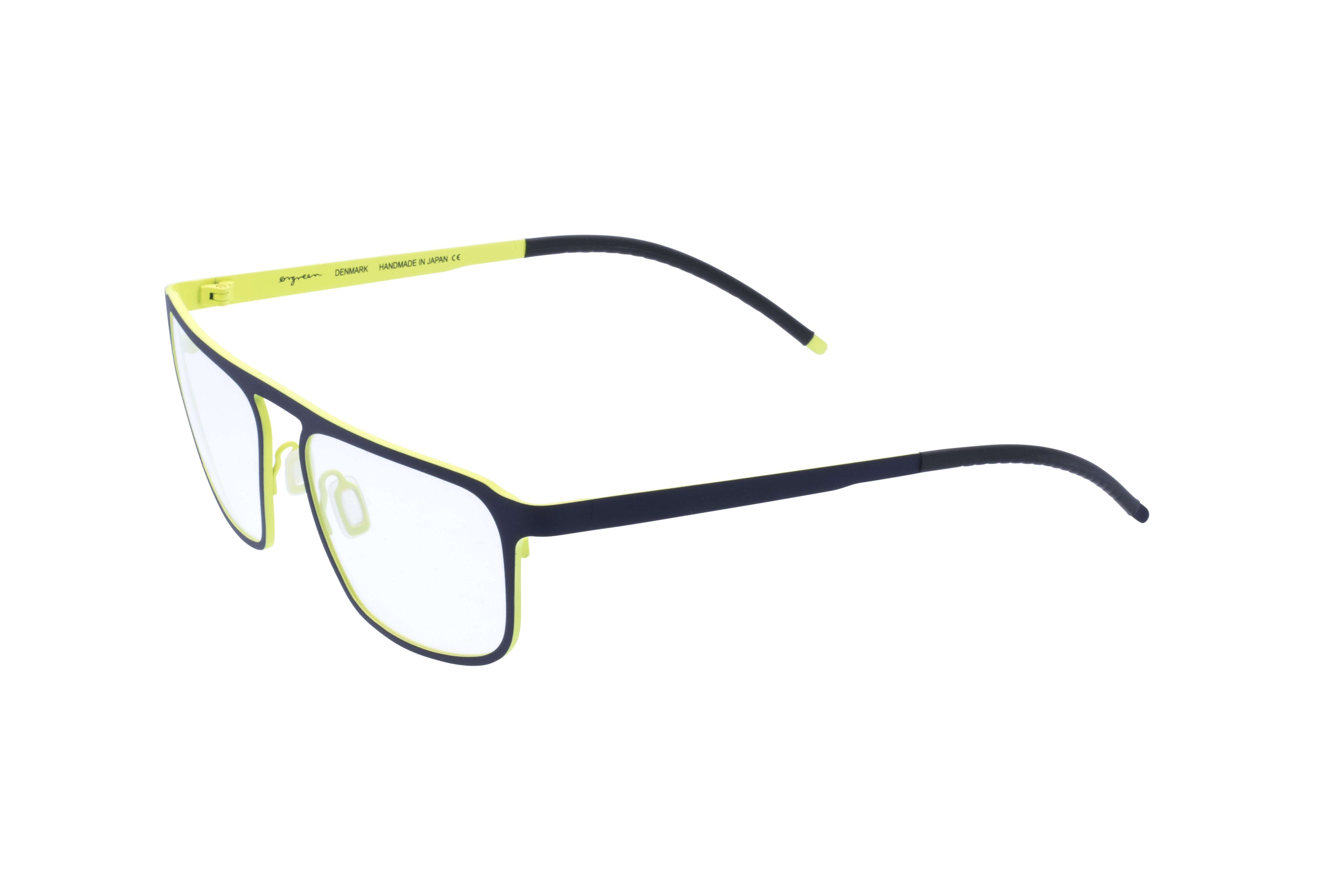 360 Grad Ansicht 20 Orgreen Crow, Brille auf Weiß - Fassung bei KUNK